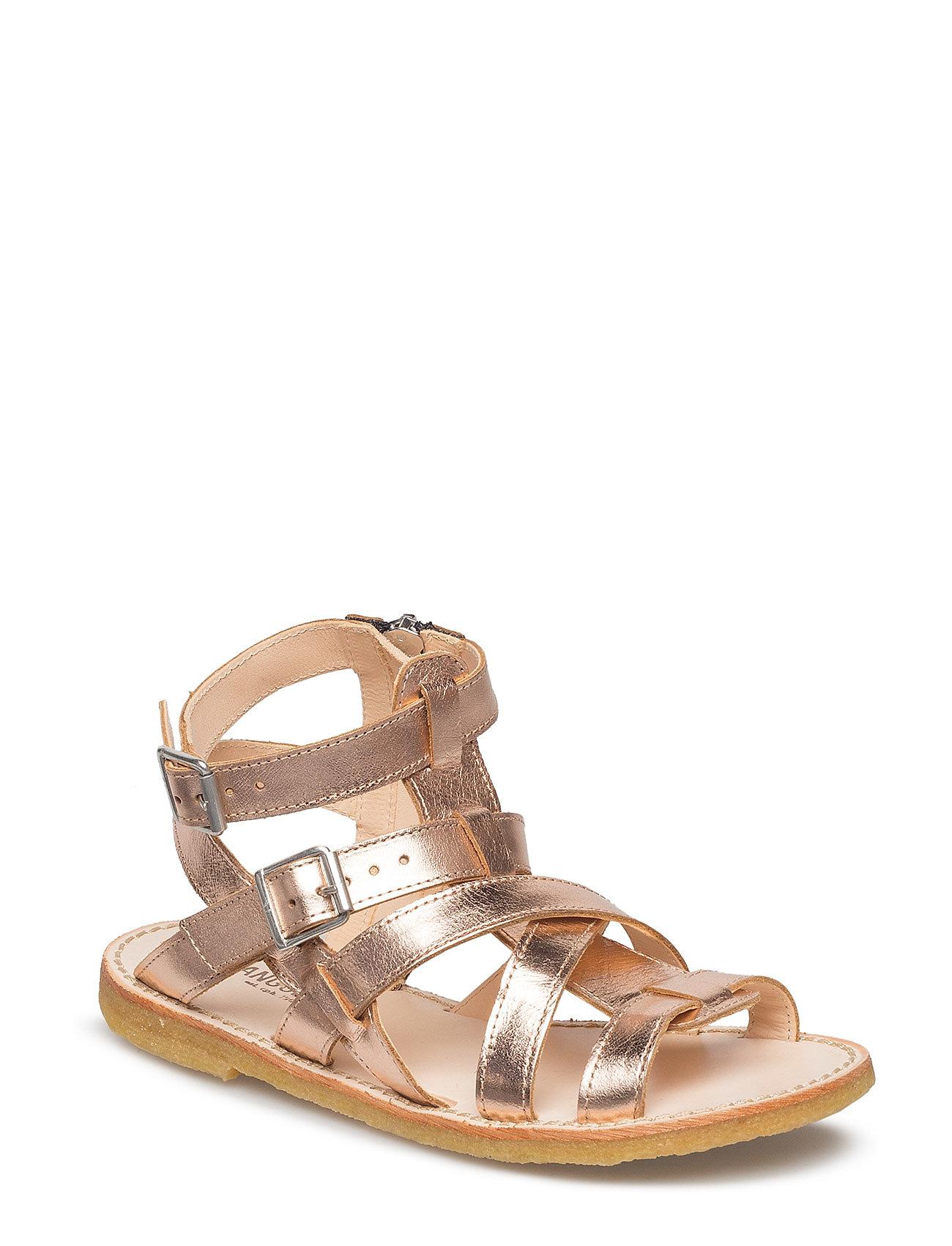 ANGULUS Sandal w. zipper - 1311 ROSE COPPER