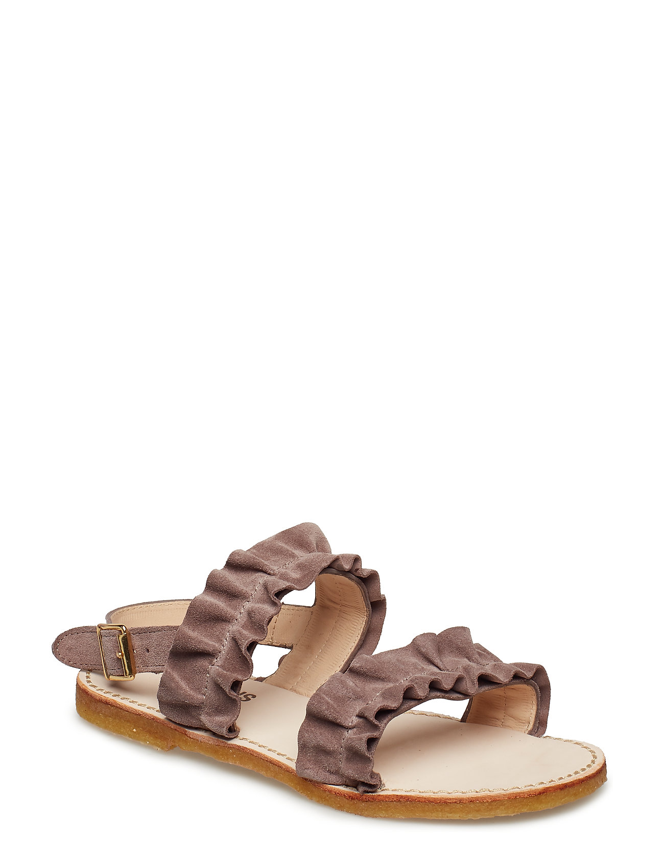 ANGULUS Sandals - flat - open toe - op - 2202 DUSTY LAVENDER