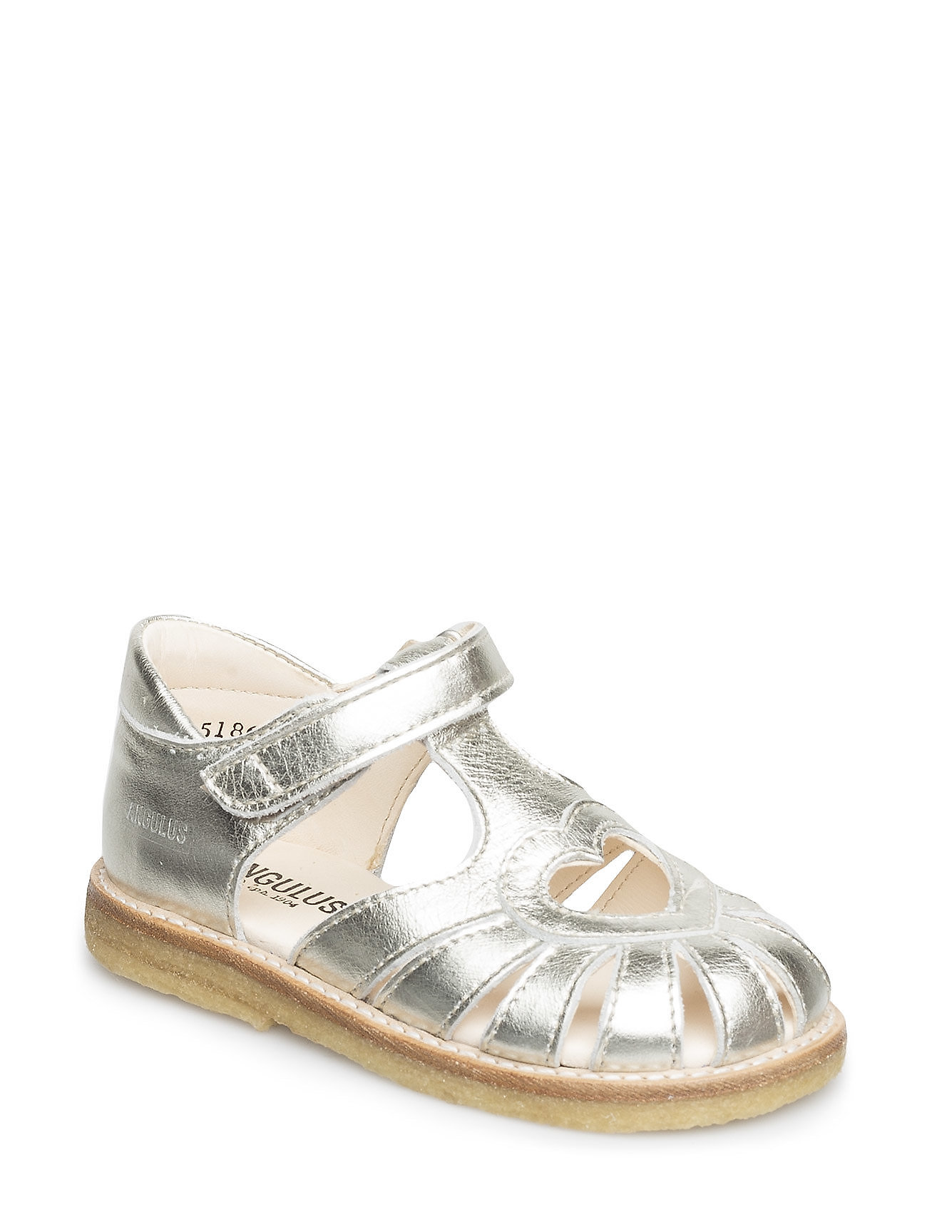 ANGULUS Sandal with heart detail - 1325 CHAMPAGNE