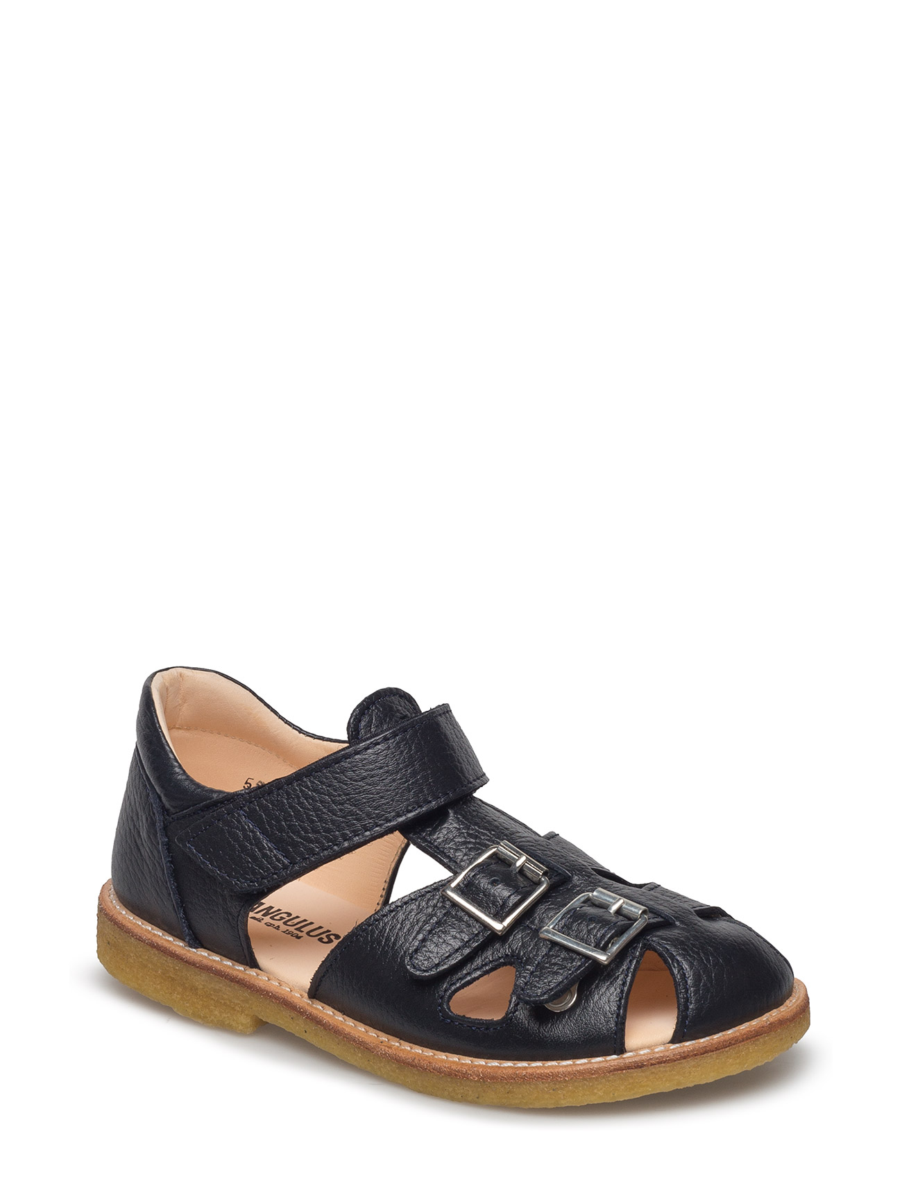 ANGULUS Sandal with two buckles in front - 1989 NAVY