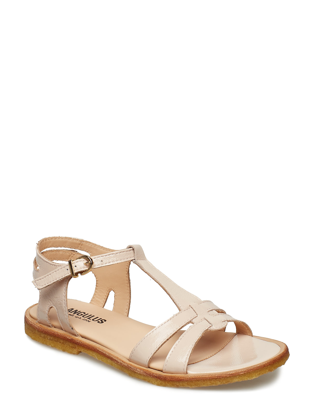 ANGULUS Sandal with leather sole - 2334 POWDER
