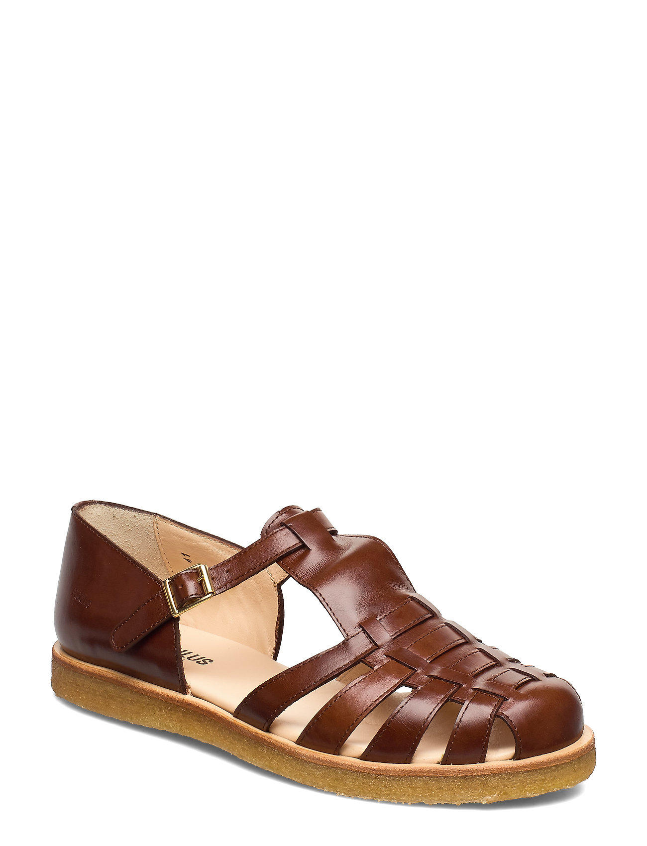 Image of Sandals - Flat - Closed Toe - Op Shoes Summer Shoes Flat Sandals Brun ANGULUS (3490037105)