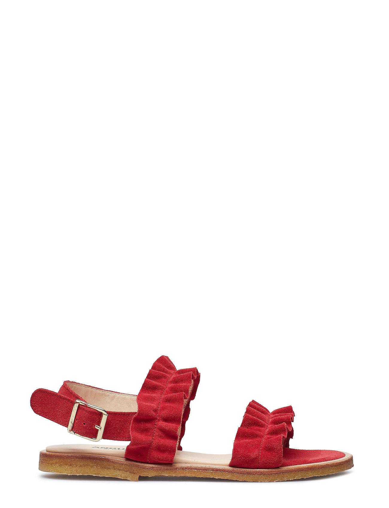 5442 Flade Sandaler Rød ANGULUS