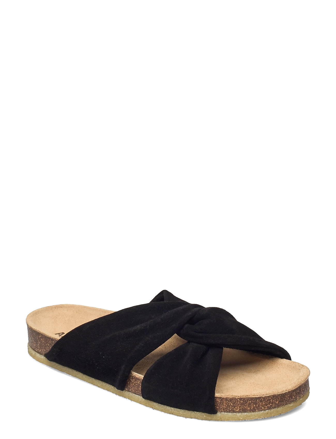 Sandals - Flat - Open Toe - Op Shoes Summer Shoes Flat Sandals Sort ANGULUS