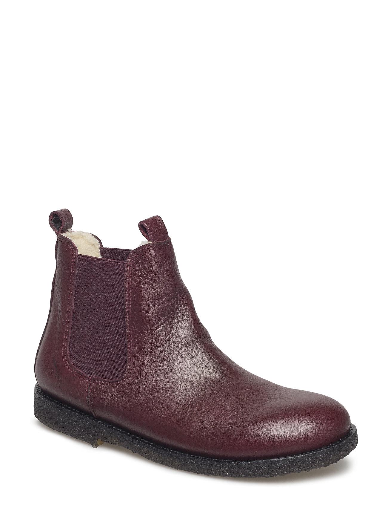 b71e8c45582 ANGULUS støvler – Chelsea Boot til børn i 2544/031 BORDEAUX/BORDEAUX ...