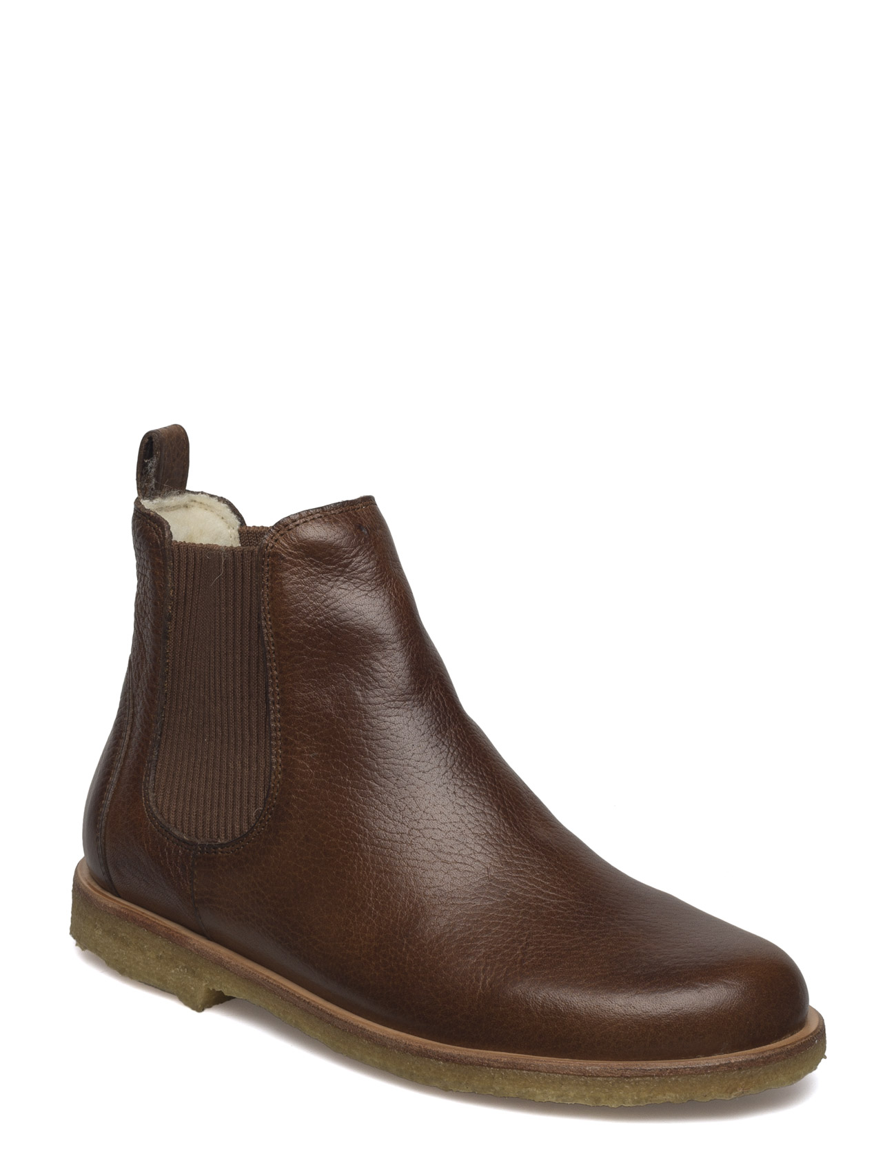 ANGULUS Chelsea boot - 2509/040 MEDIUM BROWN/ COGNAC