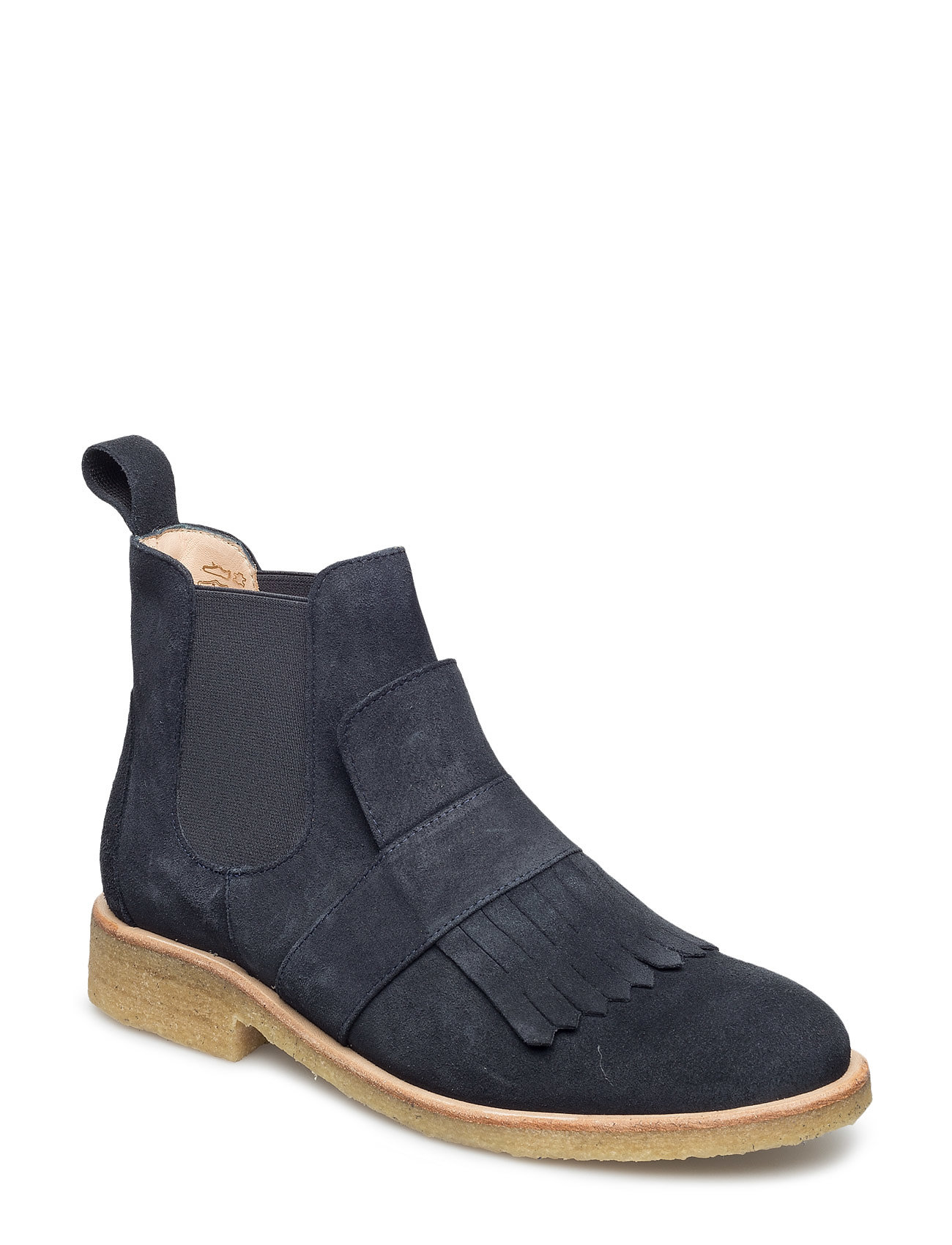 Image of Booties - Flat - With Elastic Shoes Boots Chelsea Boots Ankle Boot - Flat Blå ANGULUS (3452075713)