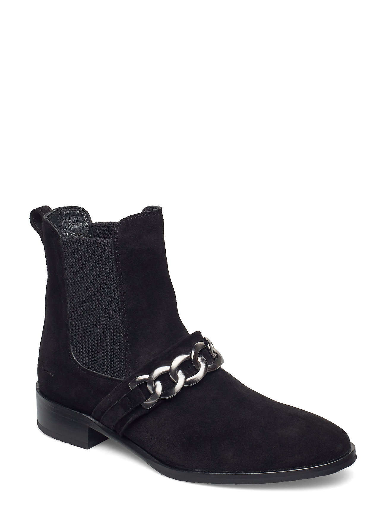Image of Booties - Flat - With Elastic Shoes Boots Ankle Boots Ankle Boot - Flat Sort ANGULUS (3472124747)