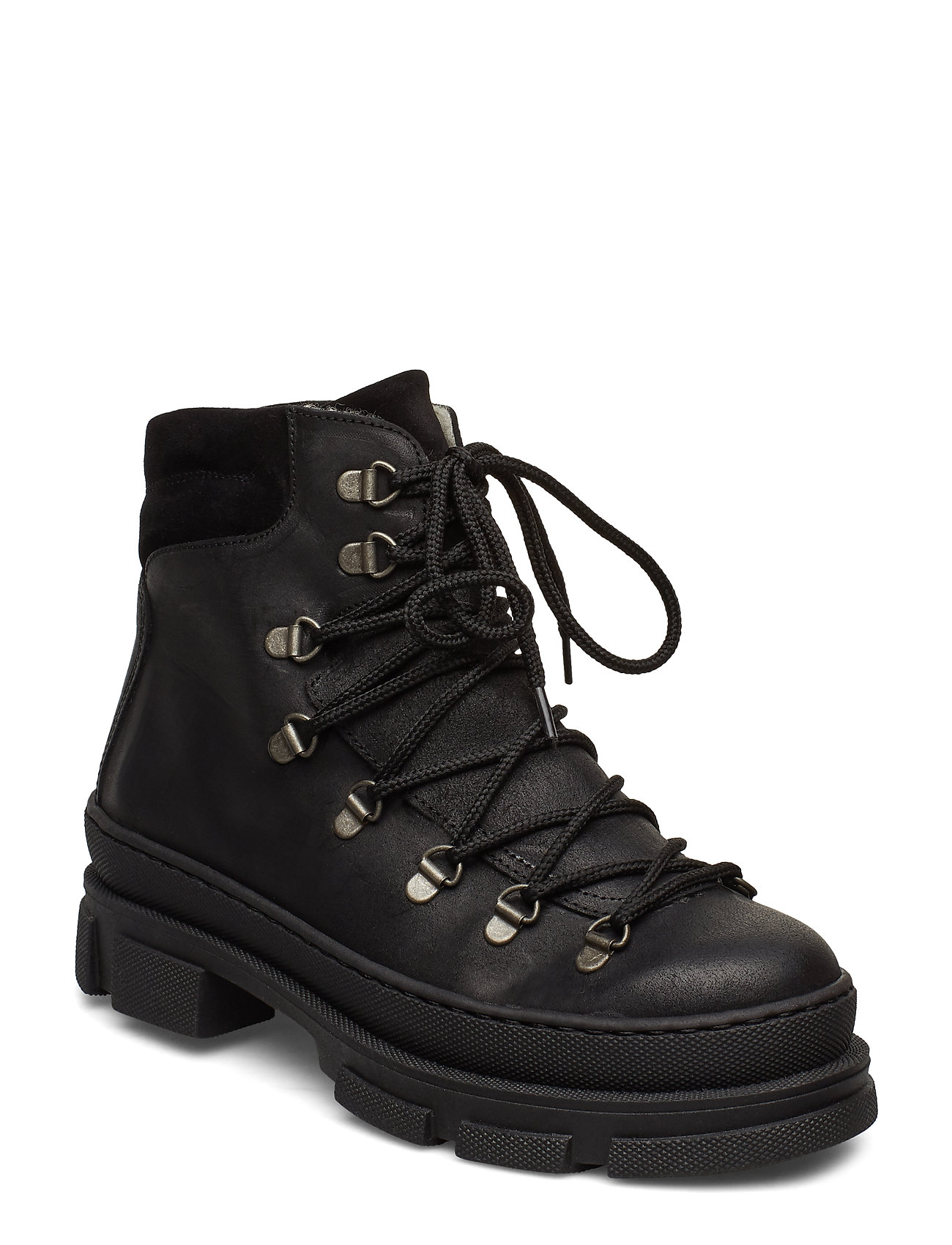 ANGULUS - Boots - flat - with laces - flade ankelstøvler - 2100/1163 black - 0