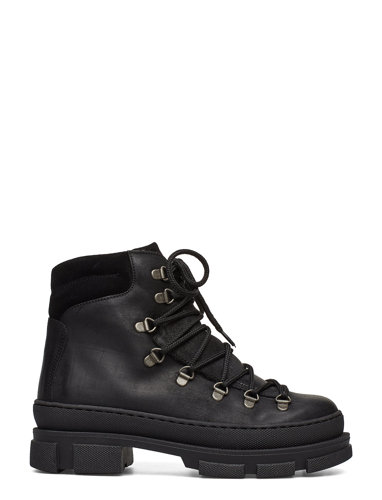 ANGULUS - Boots - flat - with laces - flade ankelstøvler - 2100/1163 black - 1