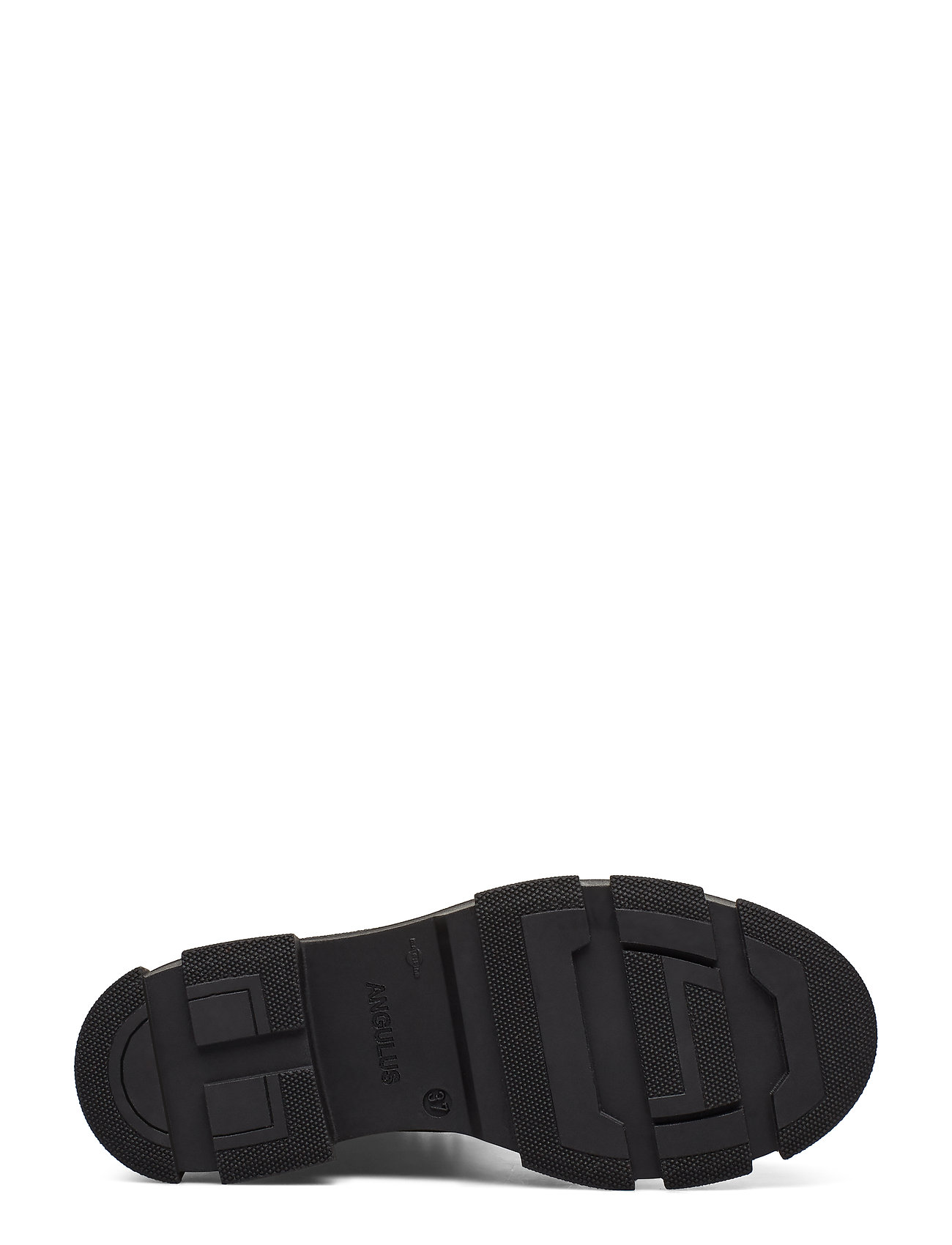 ANGULUS - Boots - flat - with laces - flat ankle boots - 2100/1163 black - 1