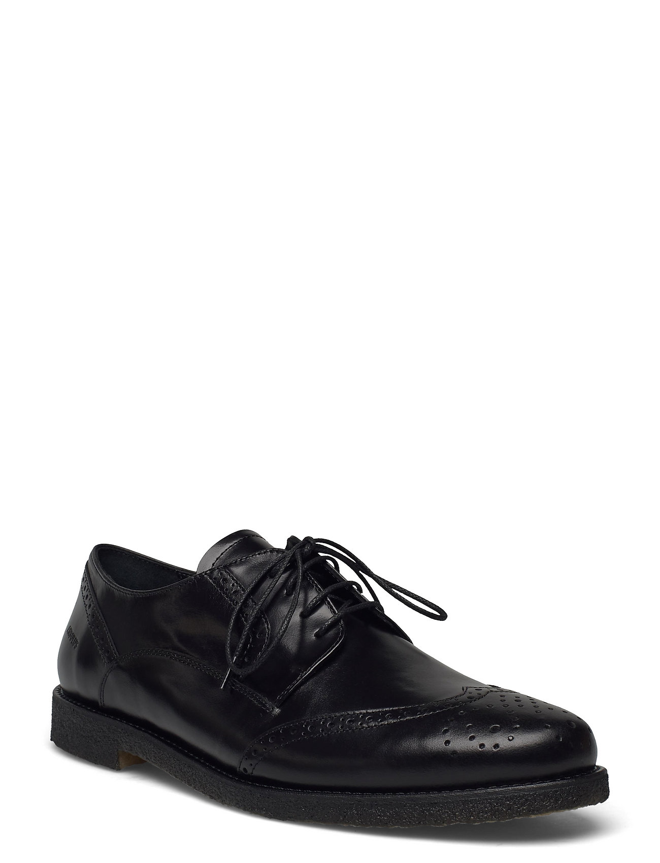 Shoes - Flat - With Lace Shoes Business Laced Shoes Sort ANGULUS