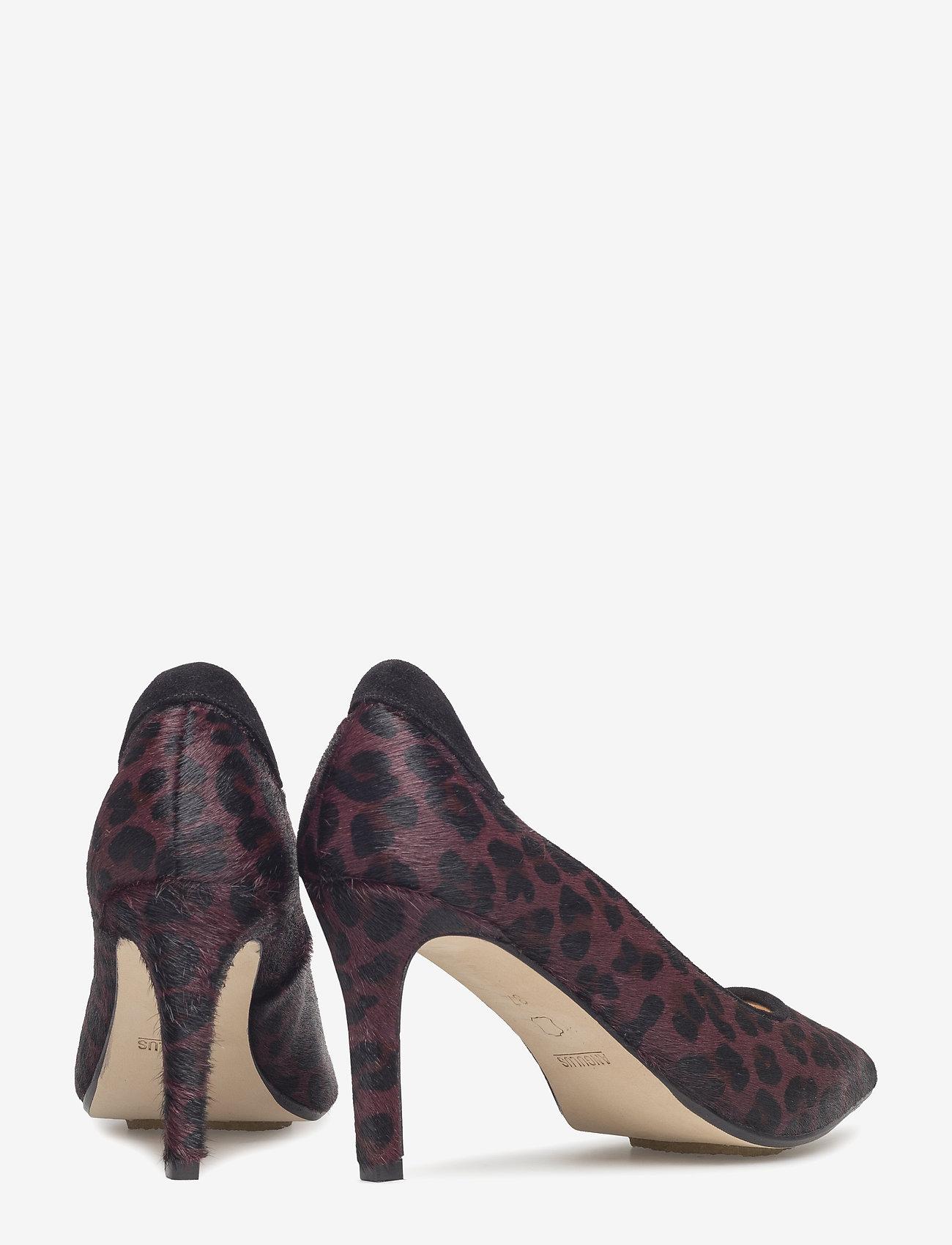 ***pump*** (1115/1163 Bordeaux Leopard/bla) - ANGULUS
