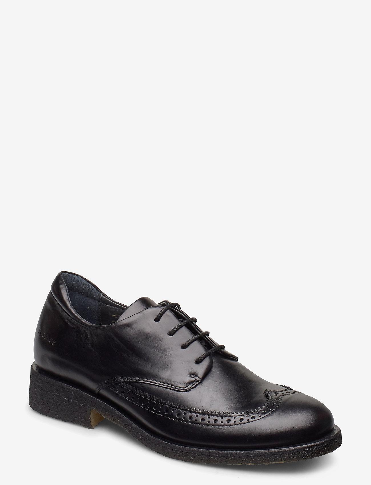 ANGULUS - Shoes - flat - with lace - buty sznurowane - 1835 black - 0
