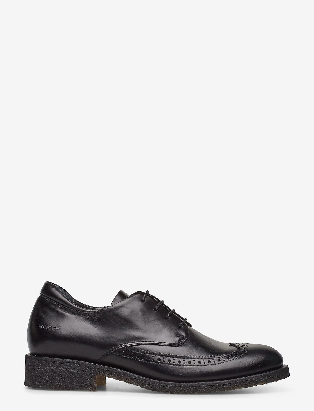 ANGULUS - Shoes - flat - with lace - buty sznurowane - 1835 black - 1