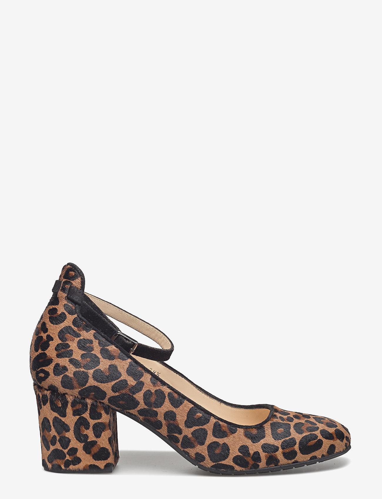ANGULUS - ***Pump*** - klassiset piikkikorkokengät - 1110/1163 leopard/black - 1