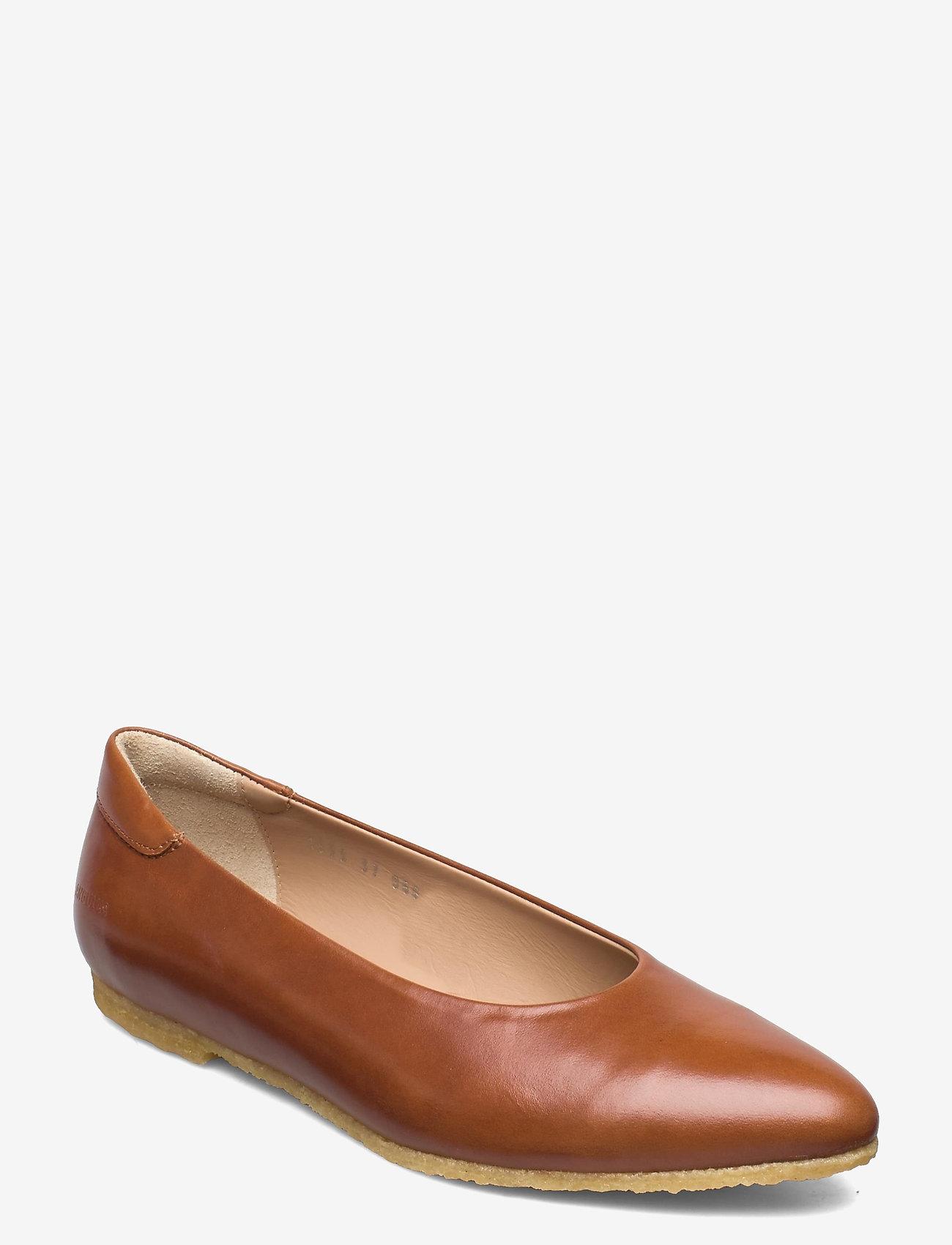 ANGULUS - Ballerina - ballerinas - 1838 cognac - 0