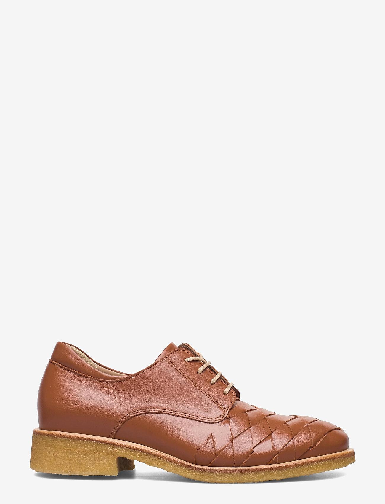 ANGULUS - Shoes - flat - snøresko - 1431 cognac - 1