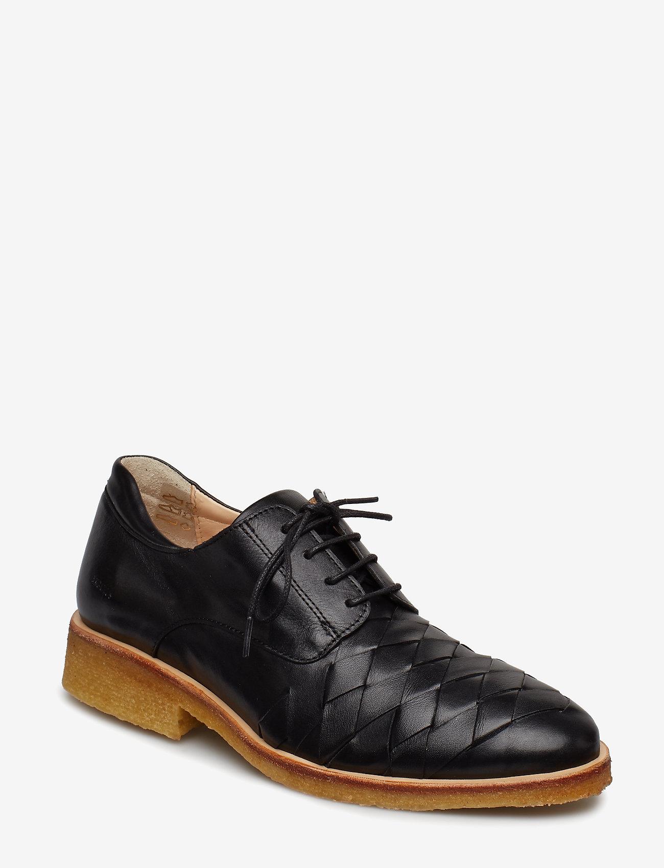 ANGULUS - Shoes - flat - schnürschuhe - 1604 black - 0
