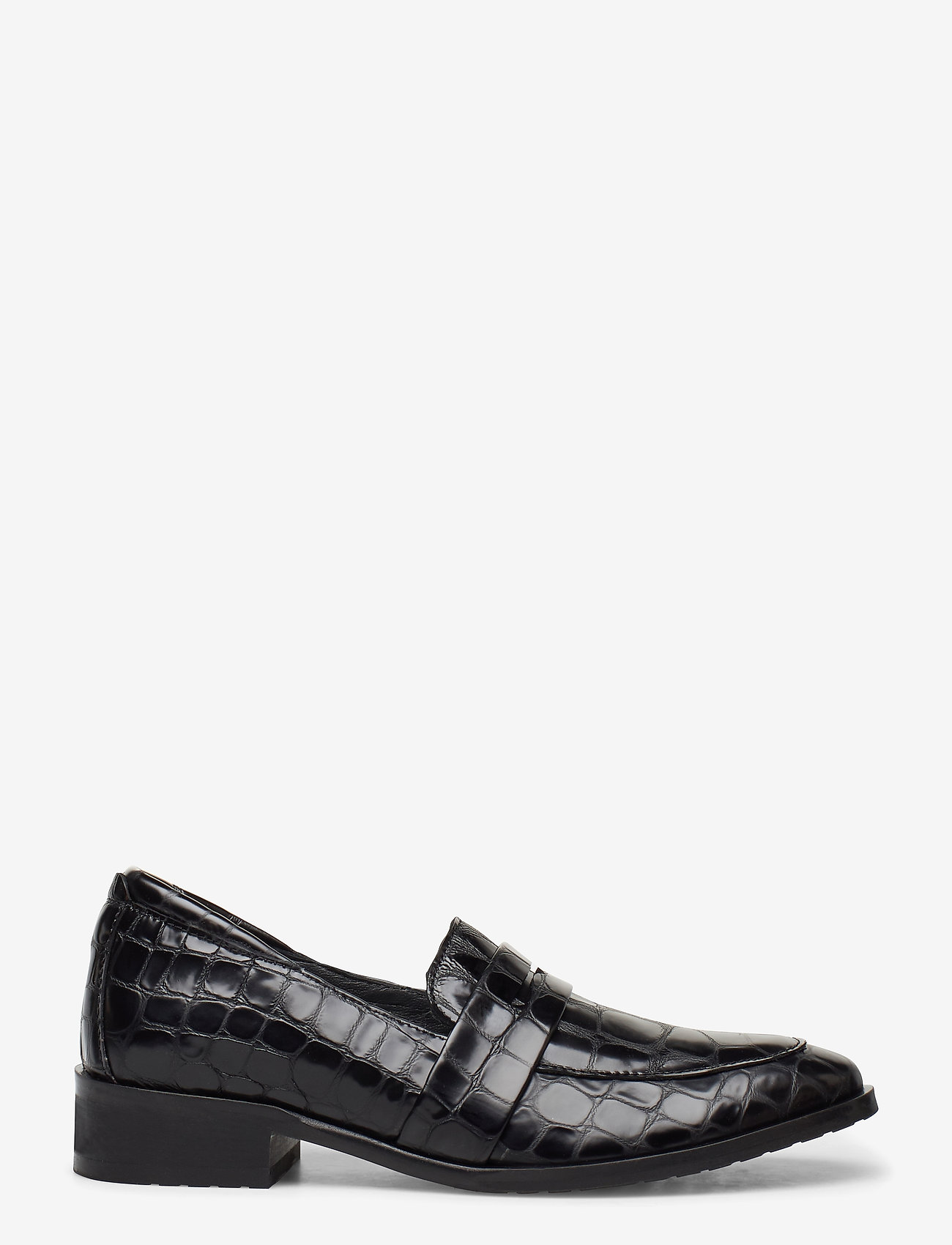 ANGULUS - Loafer - flat - loafers - 1674 black croco - 1