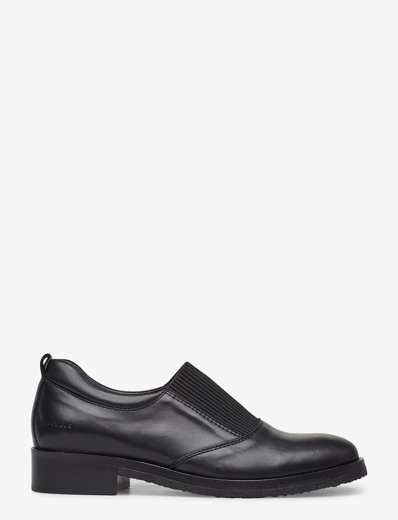 ANGULUS - Shoes - flat - with elastic - loaferit - 1604/019 black/black - 1