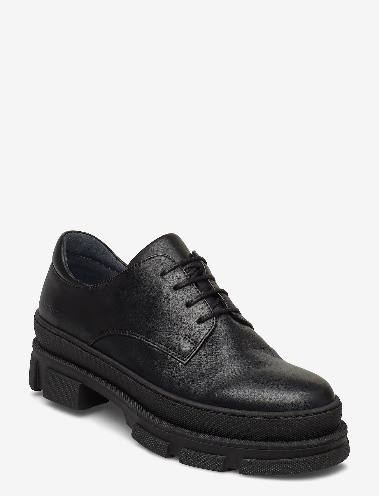 ANGULUS - Shoes - flat - with lace - buty sznurowane - 1604 black - 0