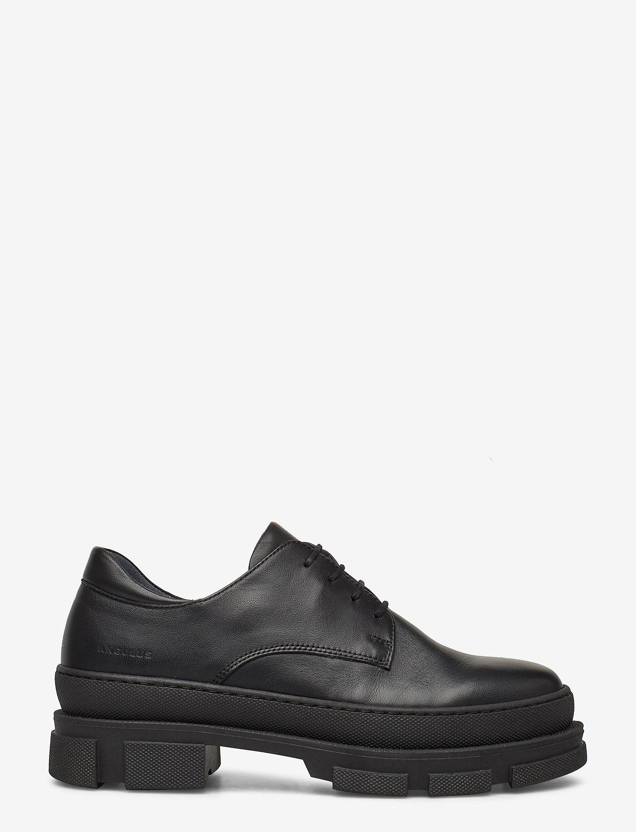 ANGULUS - Shoes - flat - with lace - buty sznurowane - 1604 black - 1