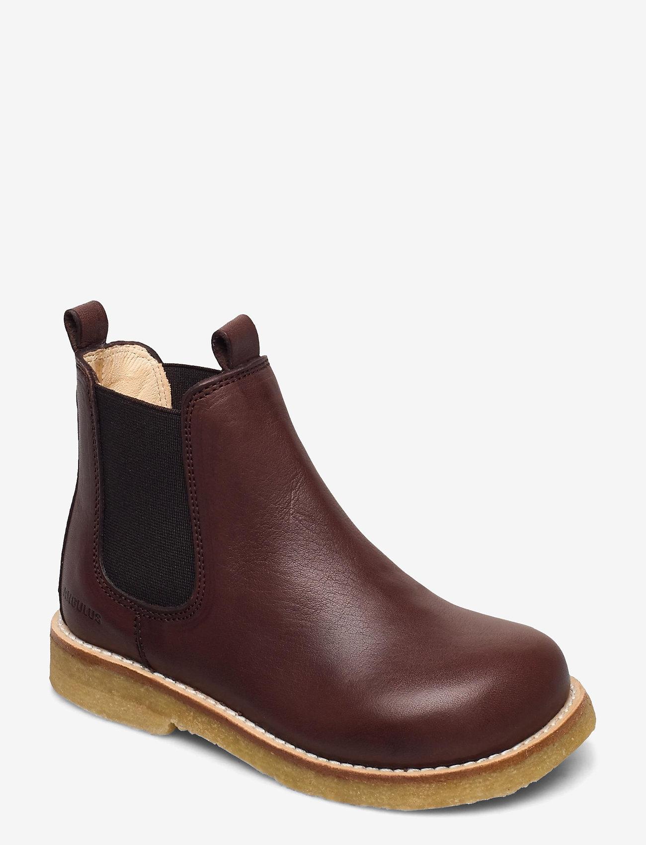ANGULUS - Chelsea boot - sko - 1547/002 dark brown/brown - 0