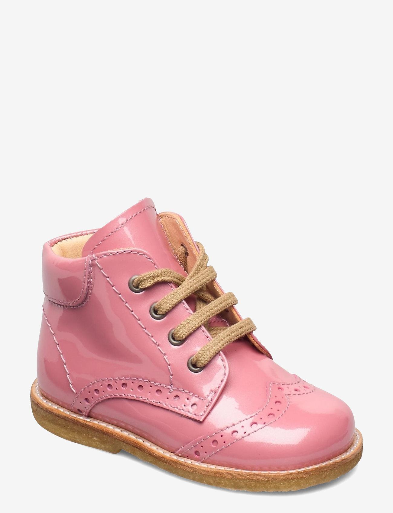 ANGULUS - Shoes - flat - with lace - lauflernschuhe - 2389 rose pink - 0