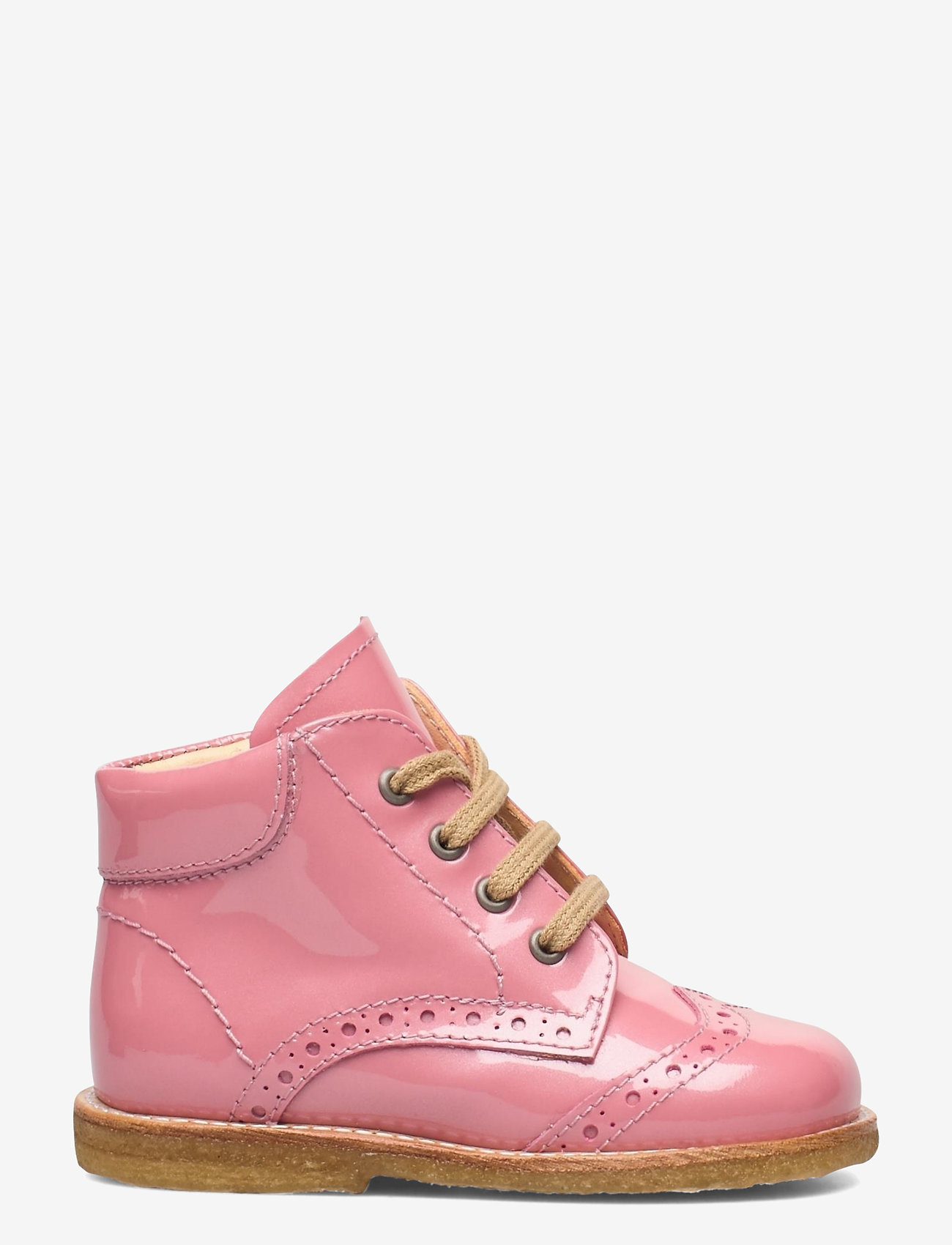 ANGULUS - Shoes - flat - with lace - lauflernschuhe - 2389 rose pink - 1