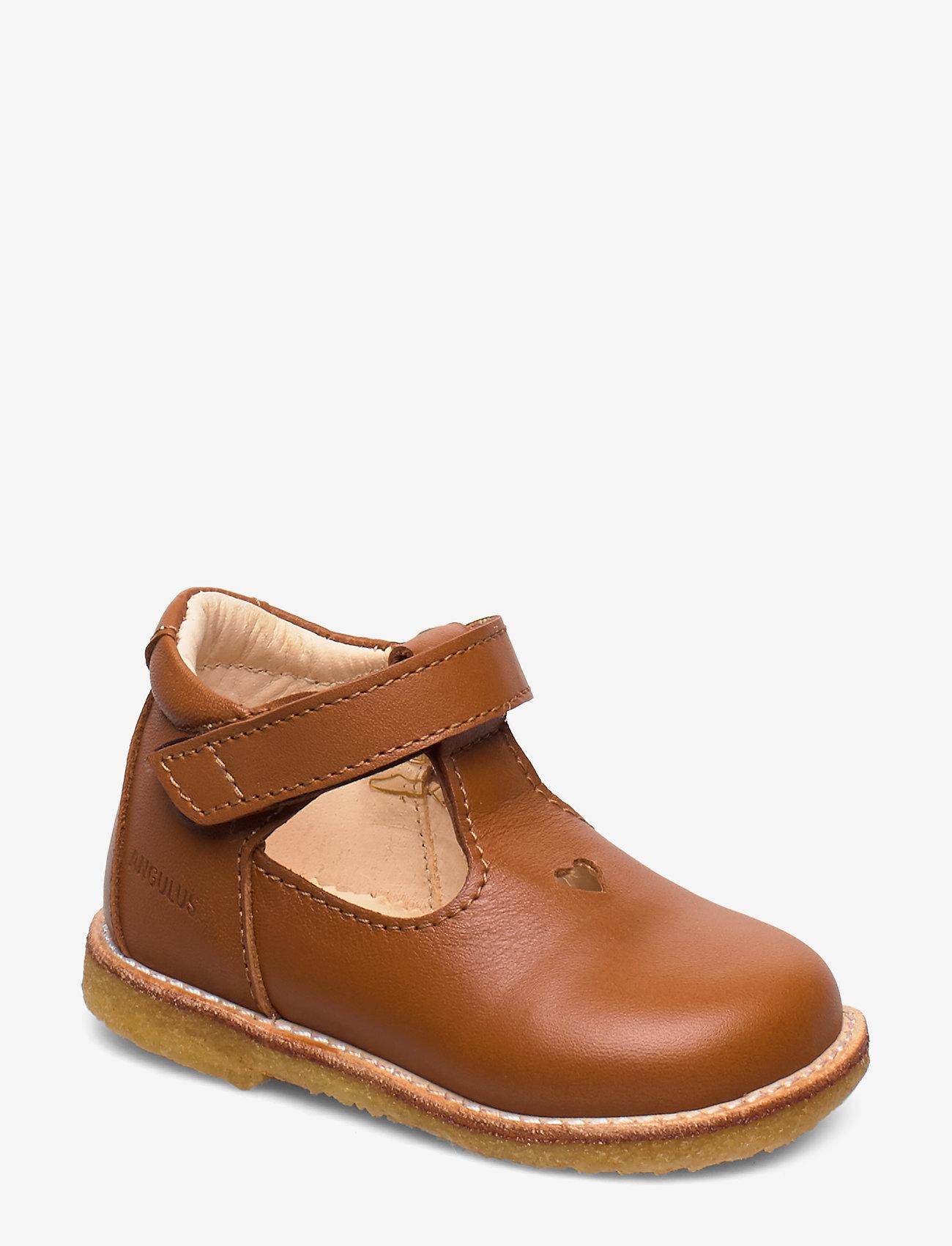 ANGULUS - ***T - bar Shoe*** - sandaler - 1431 cognac - 0