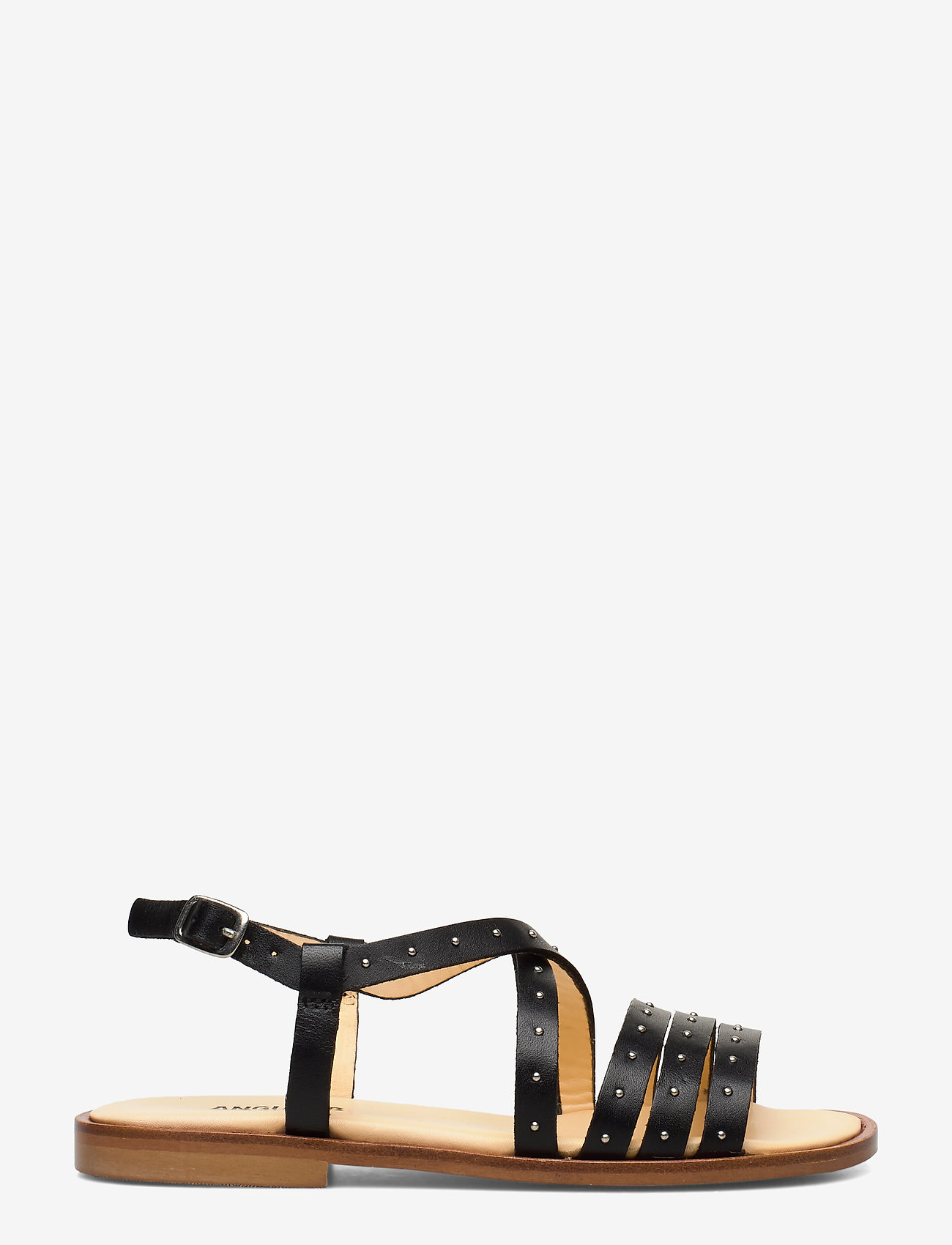 ANGULUS - Sandals - flat - open toe - op - platta sandaler - 1785 black - 1