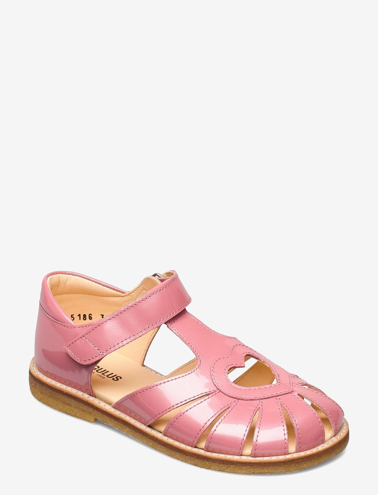 ANGULUS - Sandals - flat - closed toe -  - strap sandals - 2389 rose pink - 0