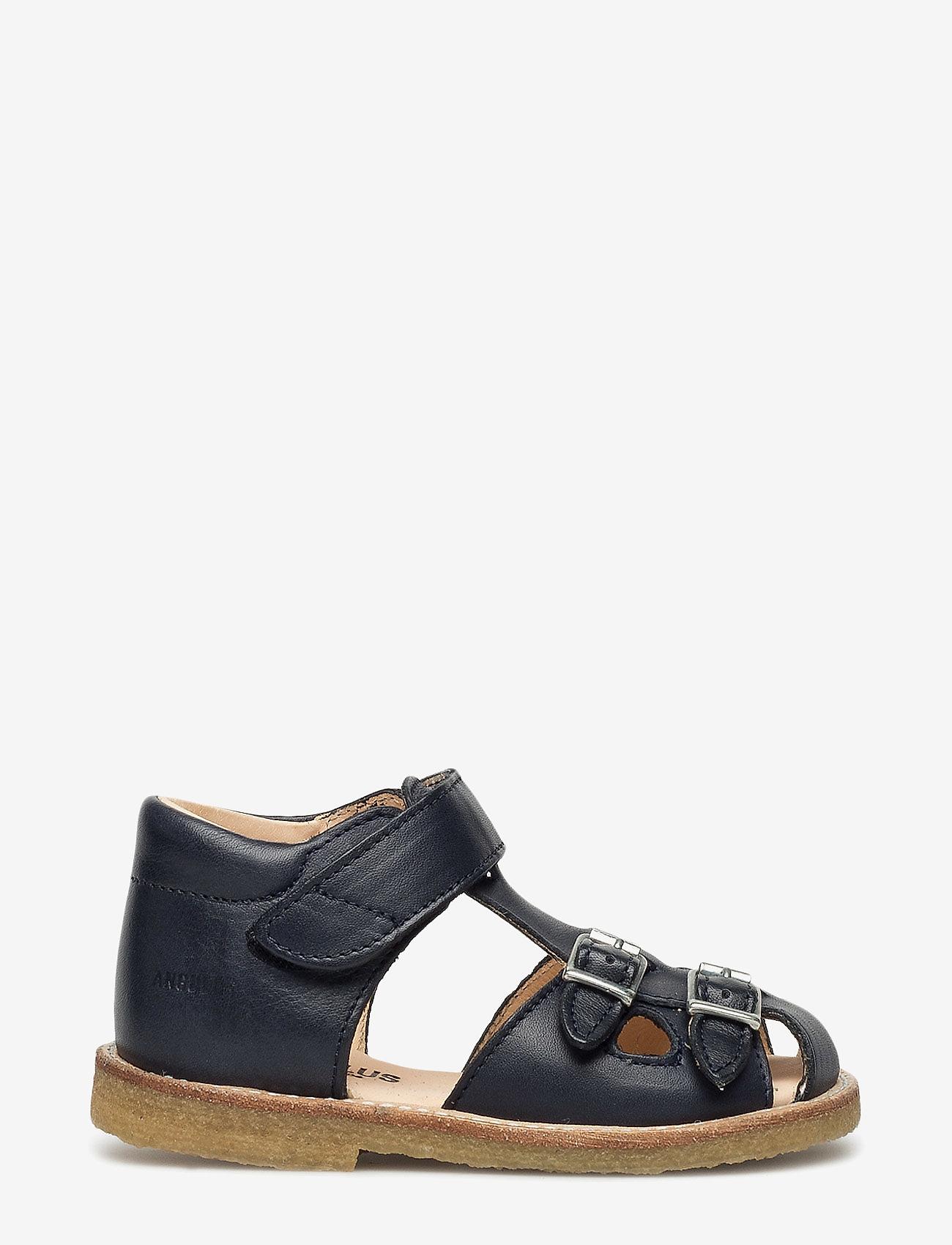 ANGULUS - Sandals - flat - sandals - 1530 navy - 1