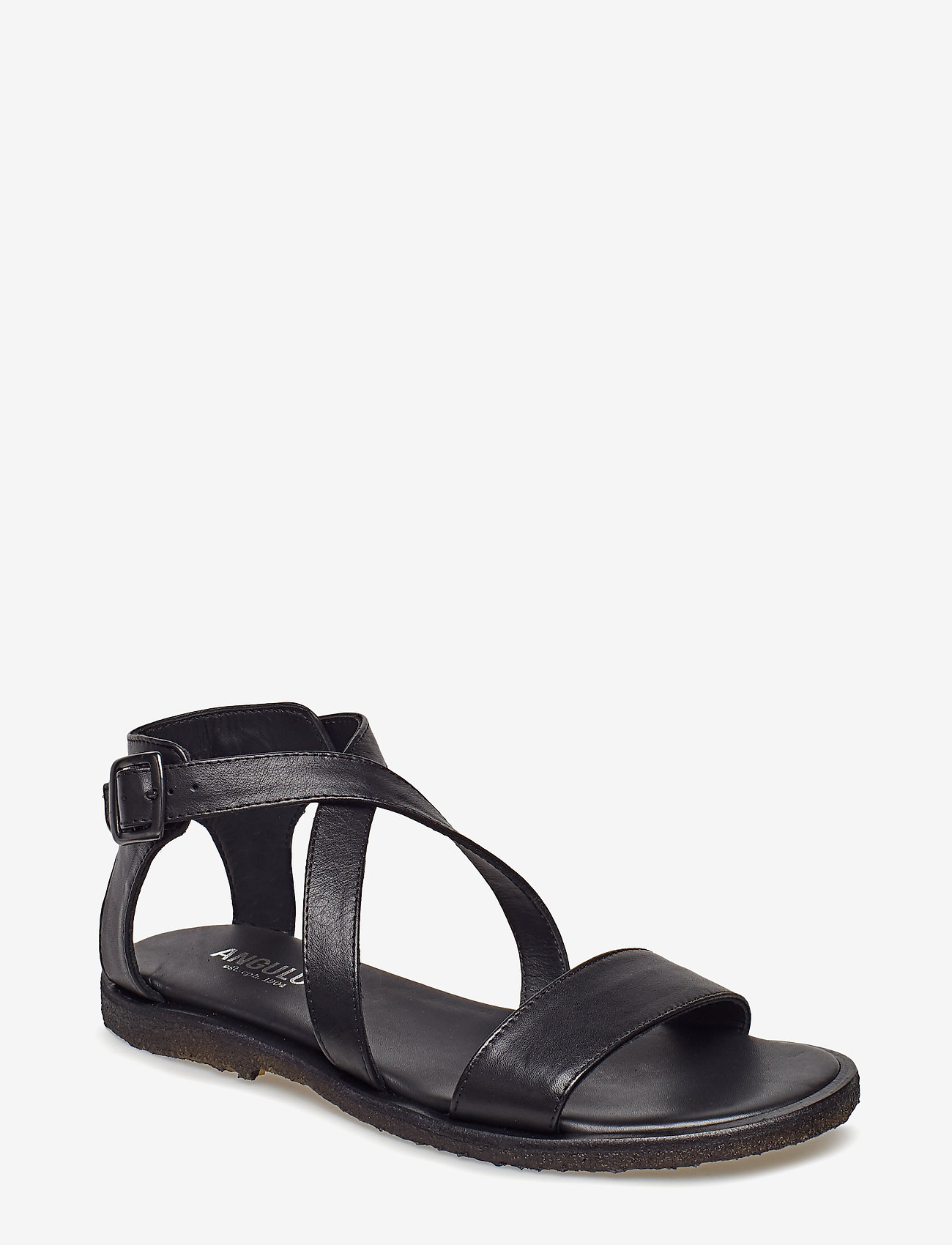 ANGULUS - 5442 - platte sandalen - 1604 black - 0