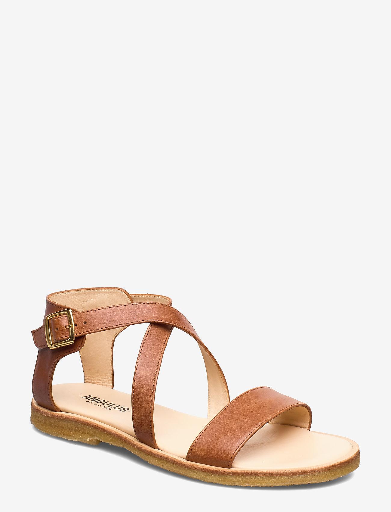 ANGULUS - 5442 - flade sandaler - 1789 tan - 0