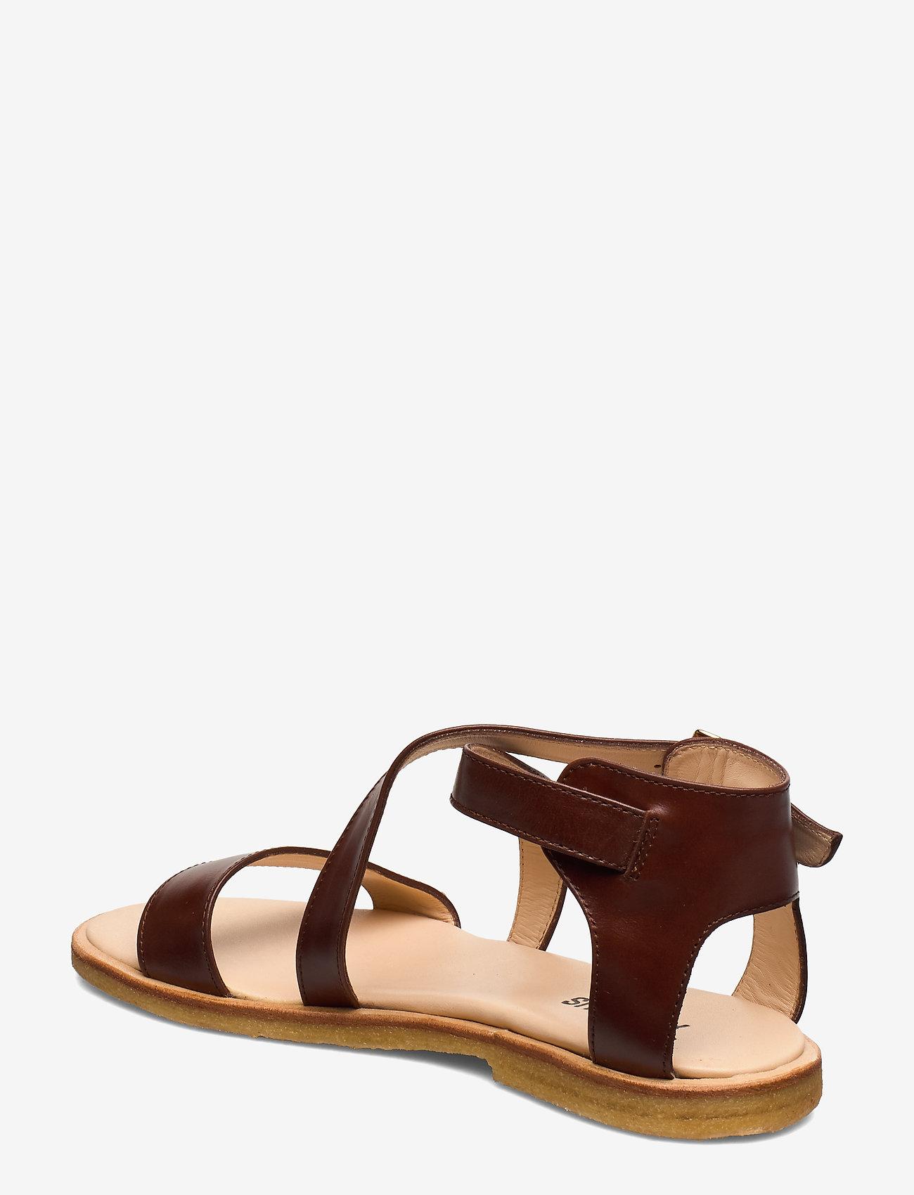 ANGULUS - 5442 - matalat sandaalit - 1837 brown - 1