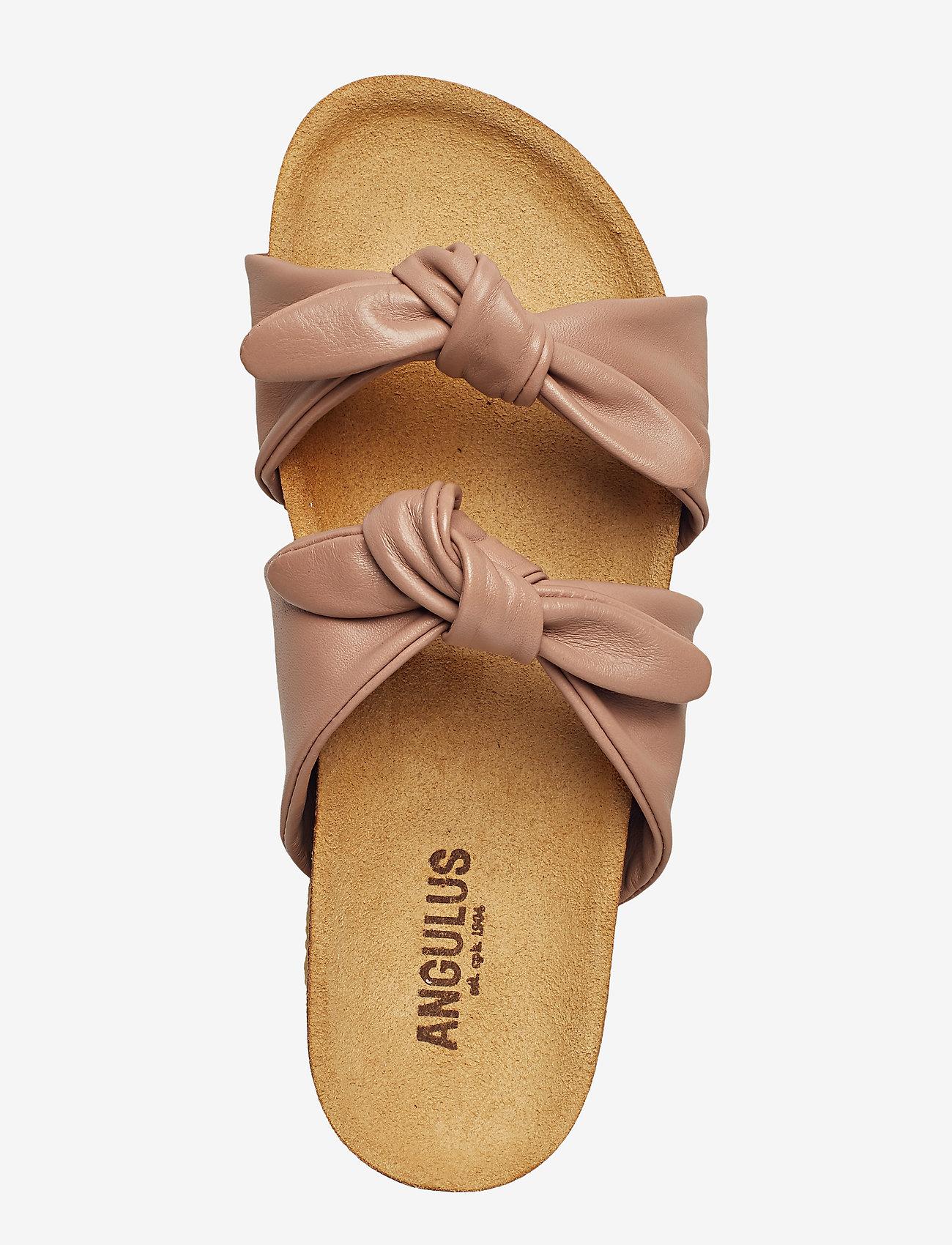 Angulus Sandals - Flat Open Toe Op Sandaler 1433 Make-up