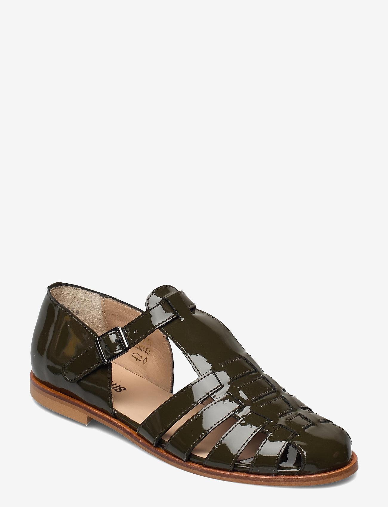 ANGULUS - Sandals - flat - closed toe - op - flache sandalen - 2345 olive - 0