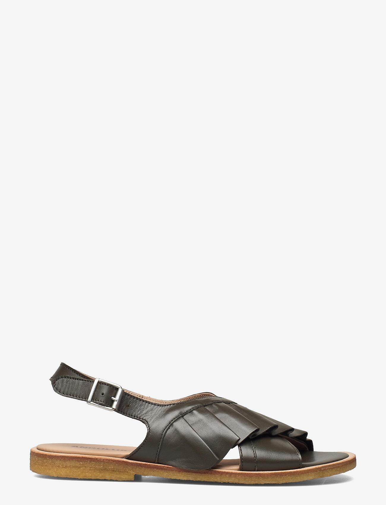ANGULUS - Sandals - flat - flache sandalen - 1446 olive - 1