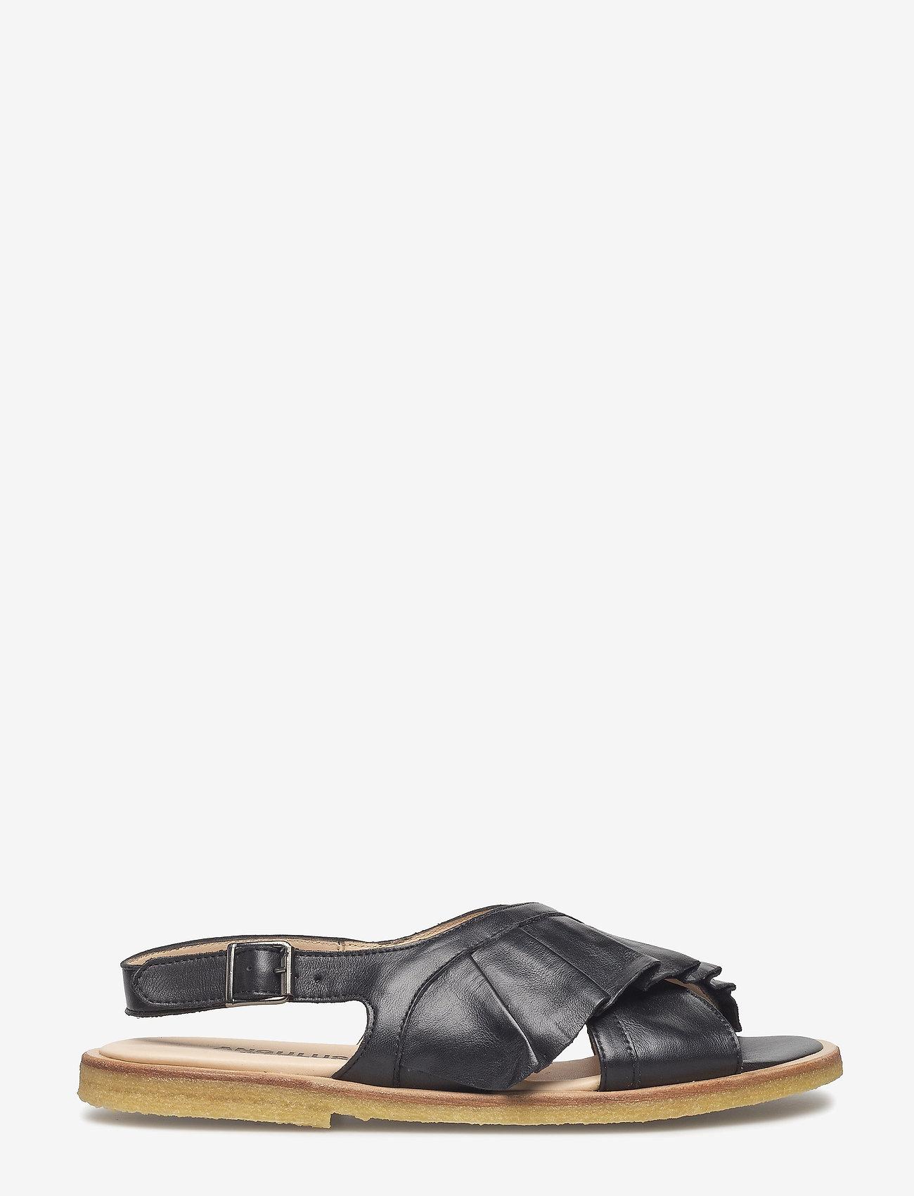 ANGULUS - Sandals - flat - flache sandalen - 1604 black - 1