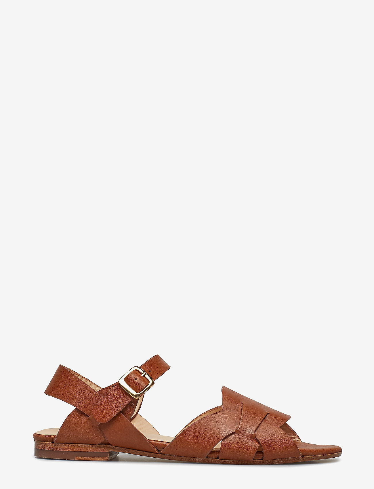 ANGULUS - Sandals - flat - flache sandalen - 1789 tan - 1