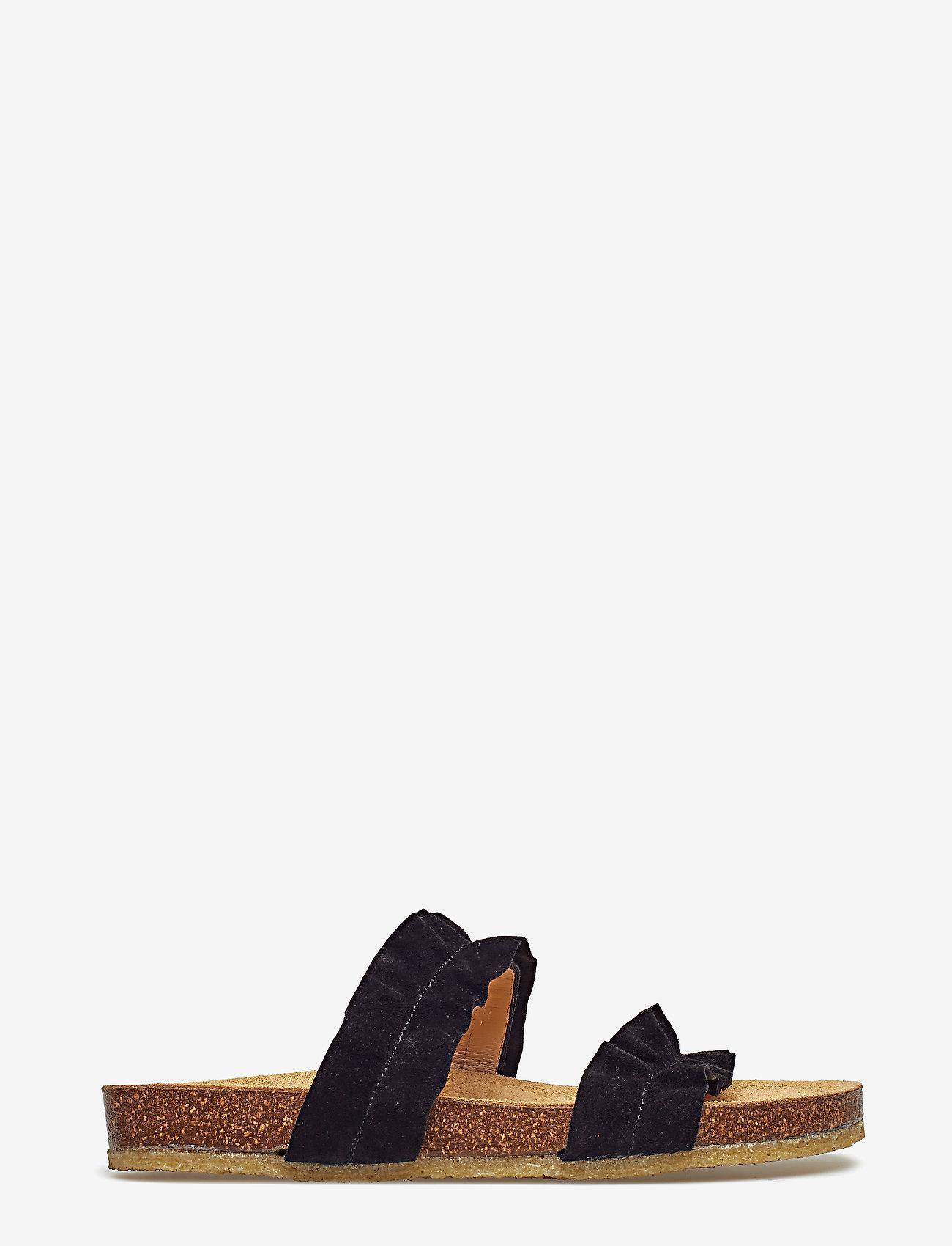 ANGULUS - Sandals - flat - open toe - op - flade sandaler - 1163 black - 1