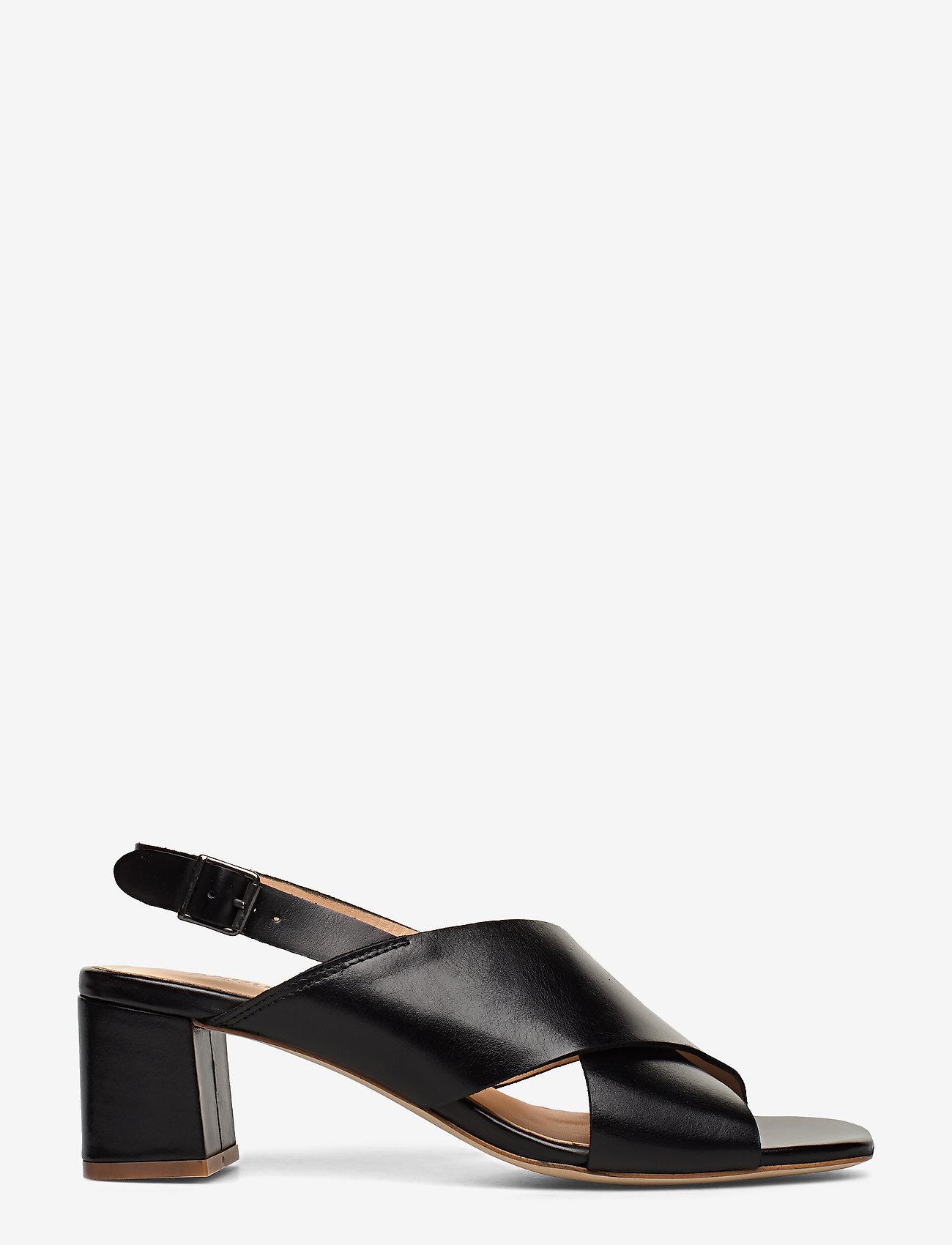 ANGULUS - Sandals - Block heels - sandalen mit absatz - 1835 black - 1