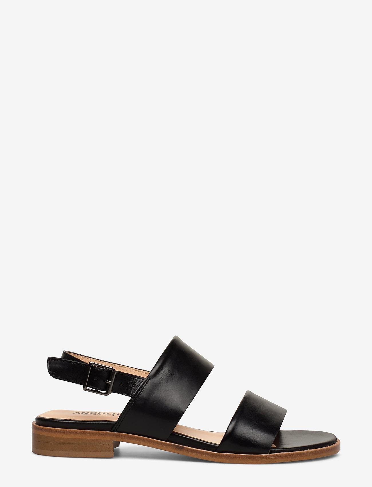 ANGULUS - Sandals - flat - platta sandaler - 1835 black - 1