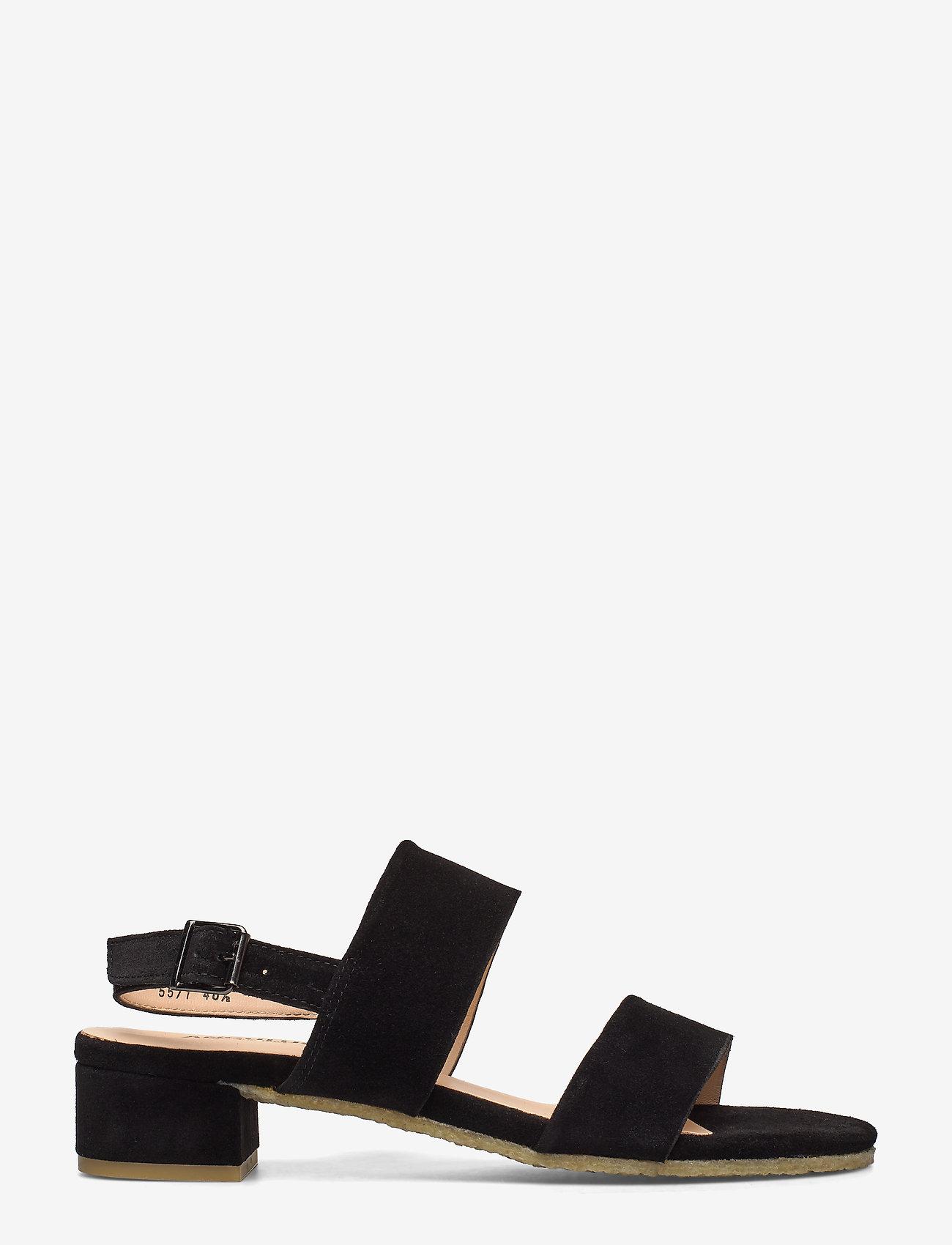 ANGULUS - Sandals - flat - sandalen mit absatz - 1163 black - 1