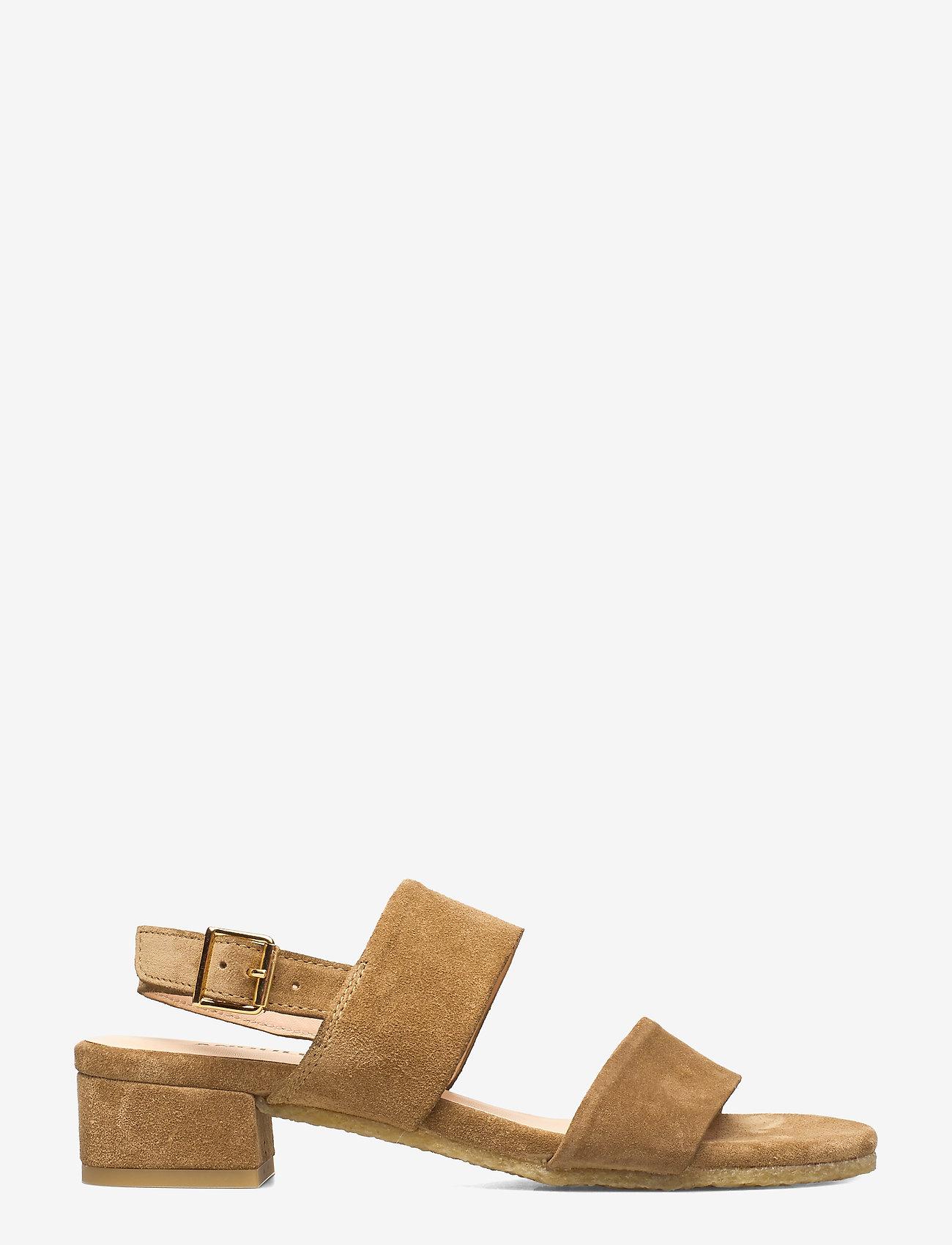 ANGULUS - Sandals - flat - højhælede sandaler - 2210 camel - 1