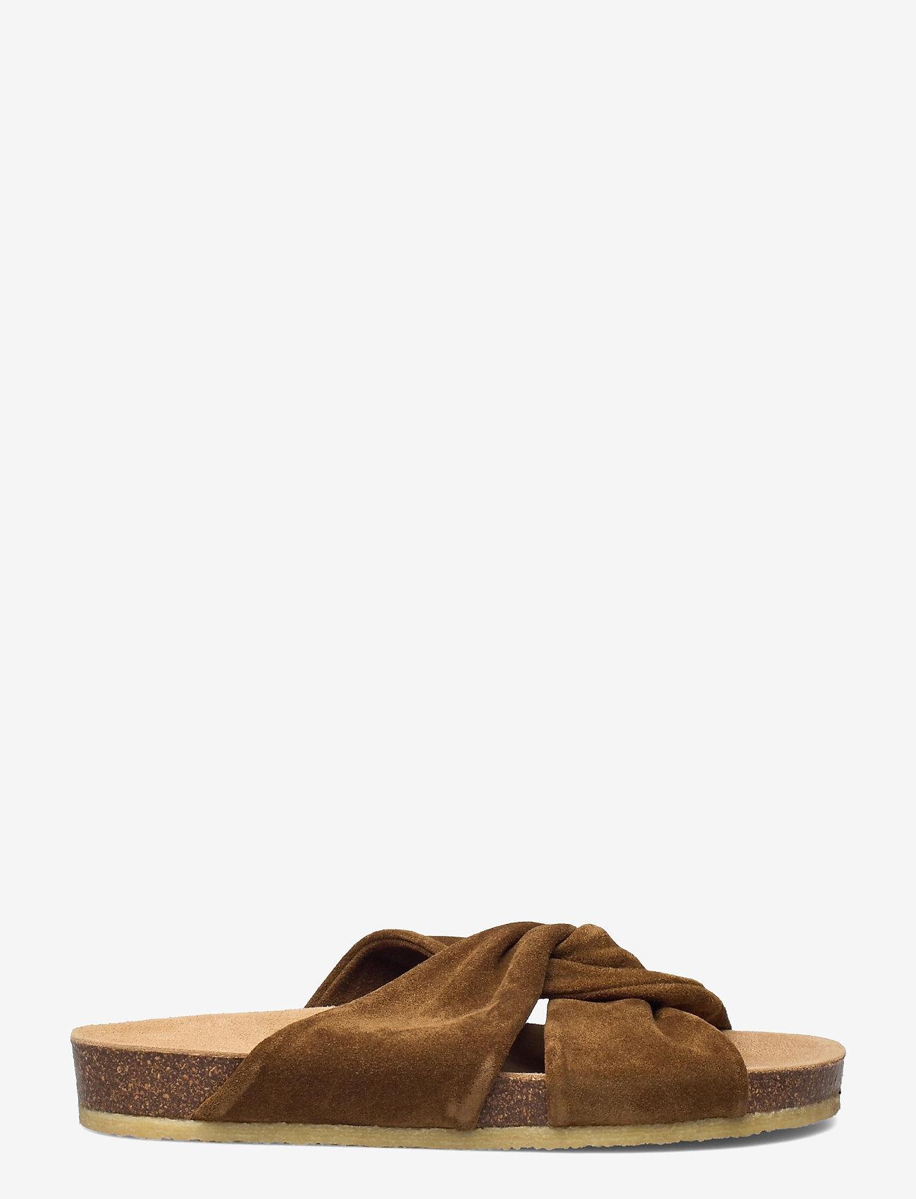 ANGULUS - Sandals - flat - open toe - op - flache sandalen - 2209 mustard - 1