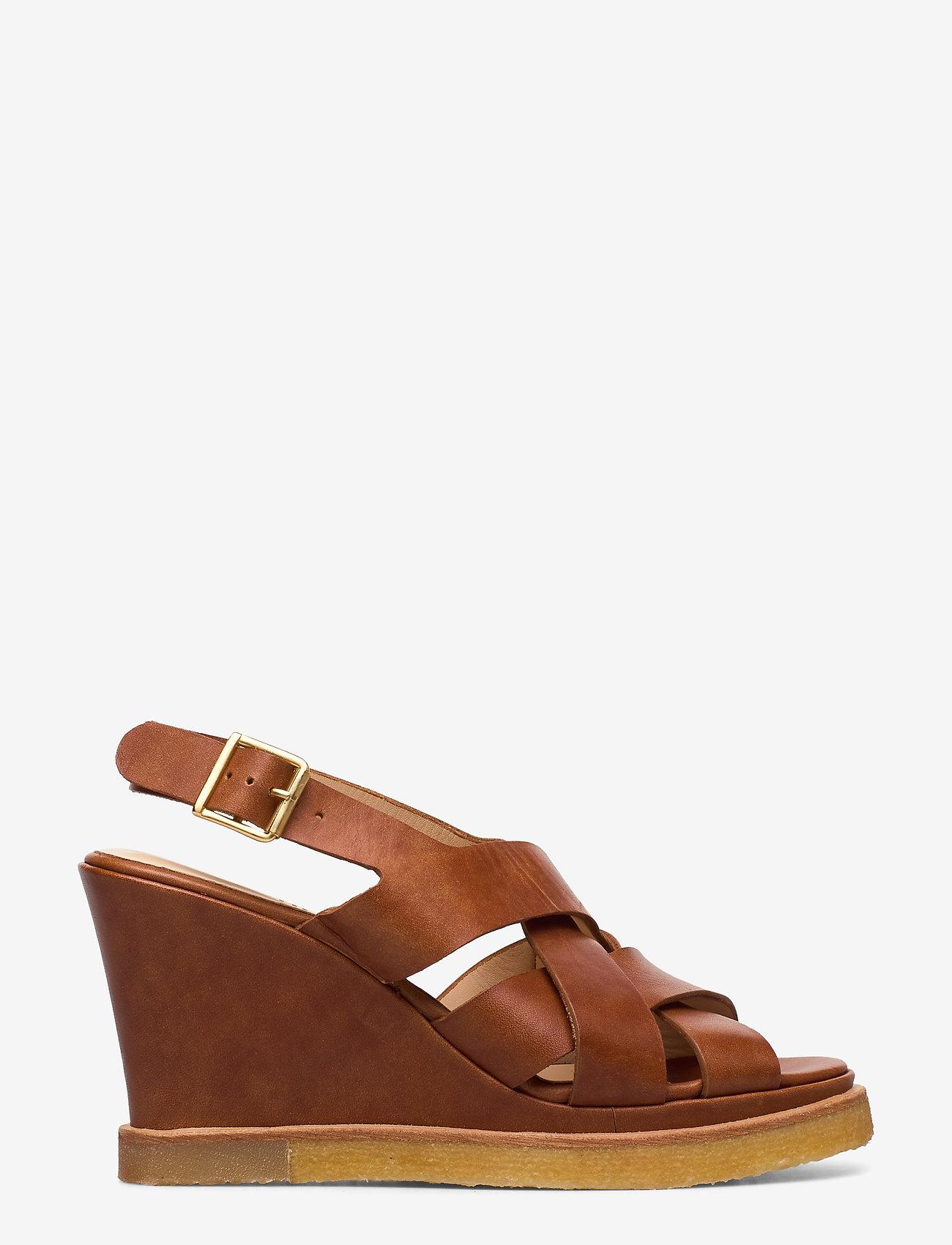 ANGULUS - Sandals - wedge - wedges - 1789 tan - 1