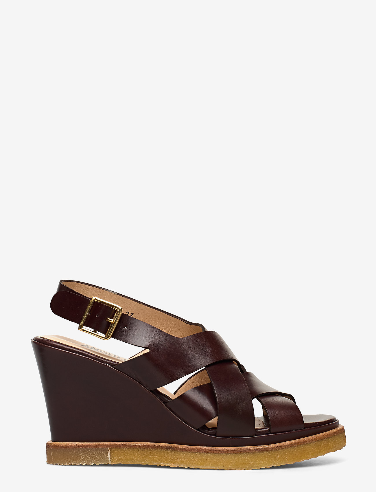 ANGULUS - Sandals - wedge - wedges - 1836 dark brown - 1